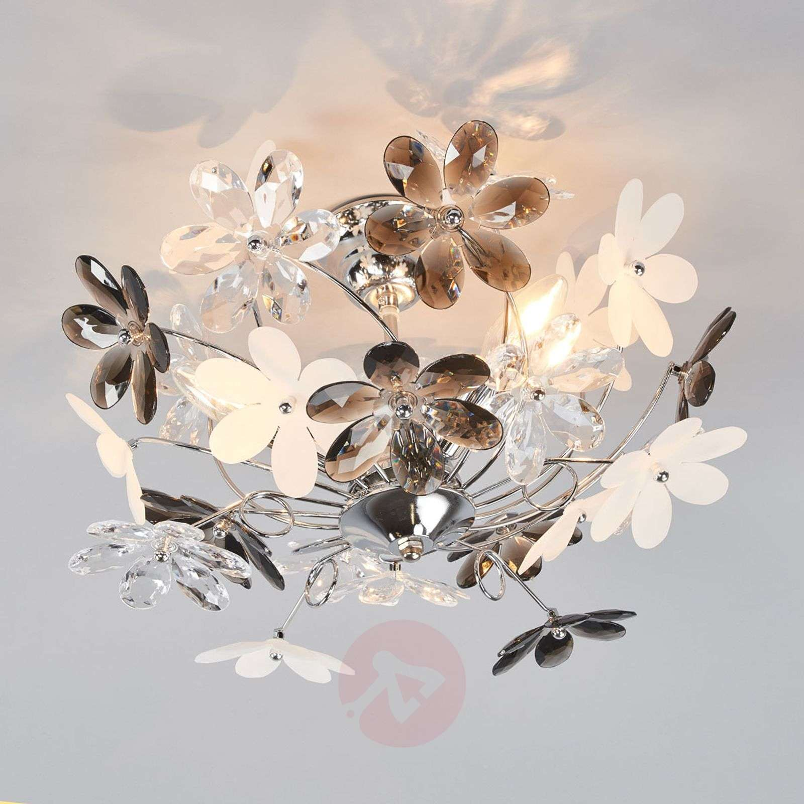 Flower Ceiling Lamp With Transpa Blossoms Lights Ie