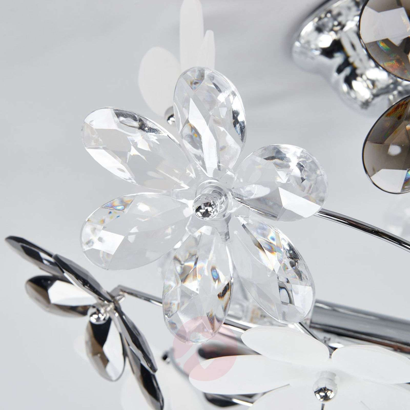 ... Flower Ceiling Lamp With Transparent Blossoms 4014583 01 ...