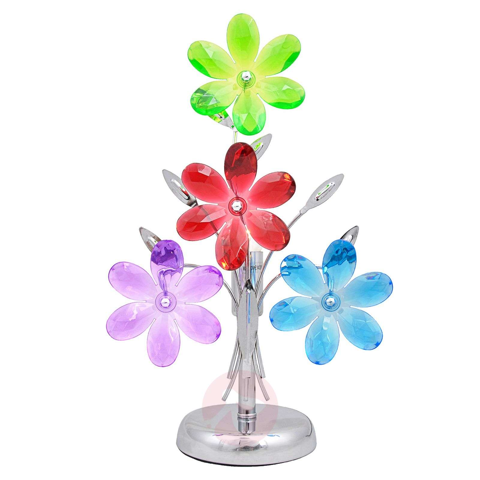 Flower Table Lamp, one lamp-4014581-01