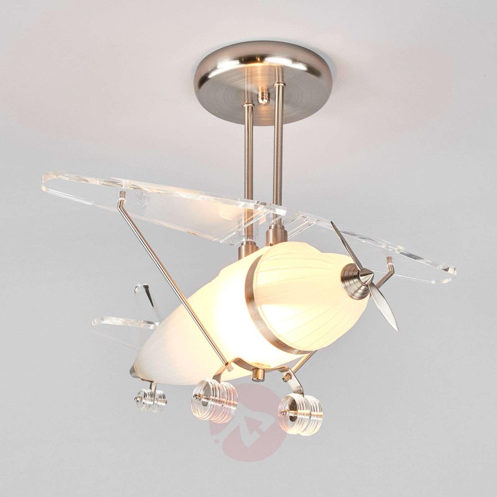 FLYA aeroplane-shaped decorative ceiling light-8570182-03