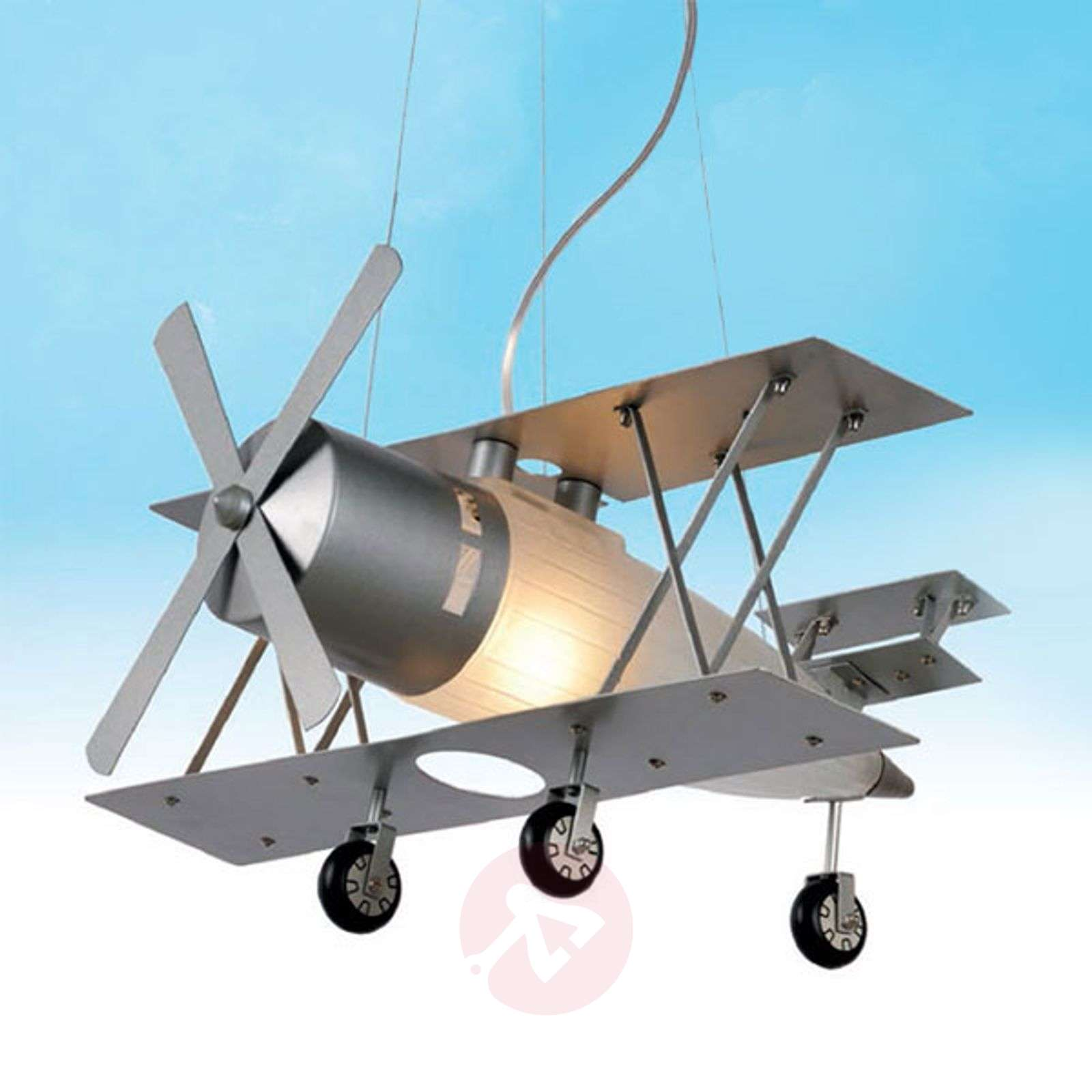 Focker hanging light in an aeroplane design-6054790-01
