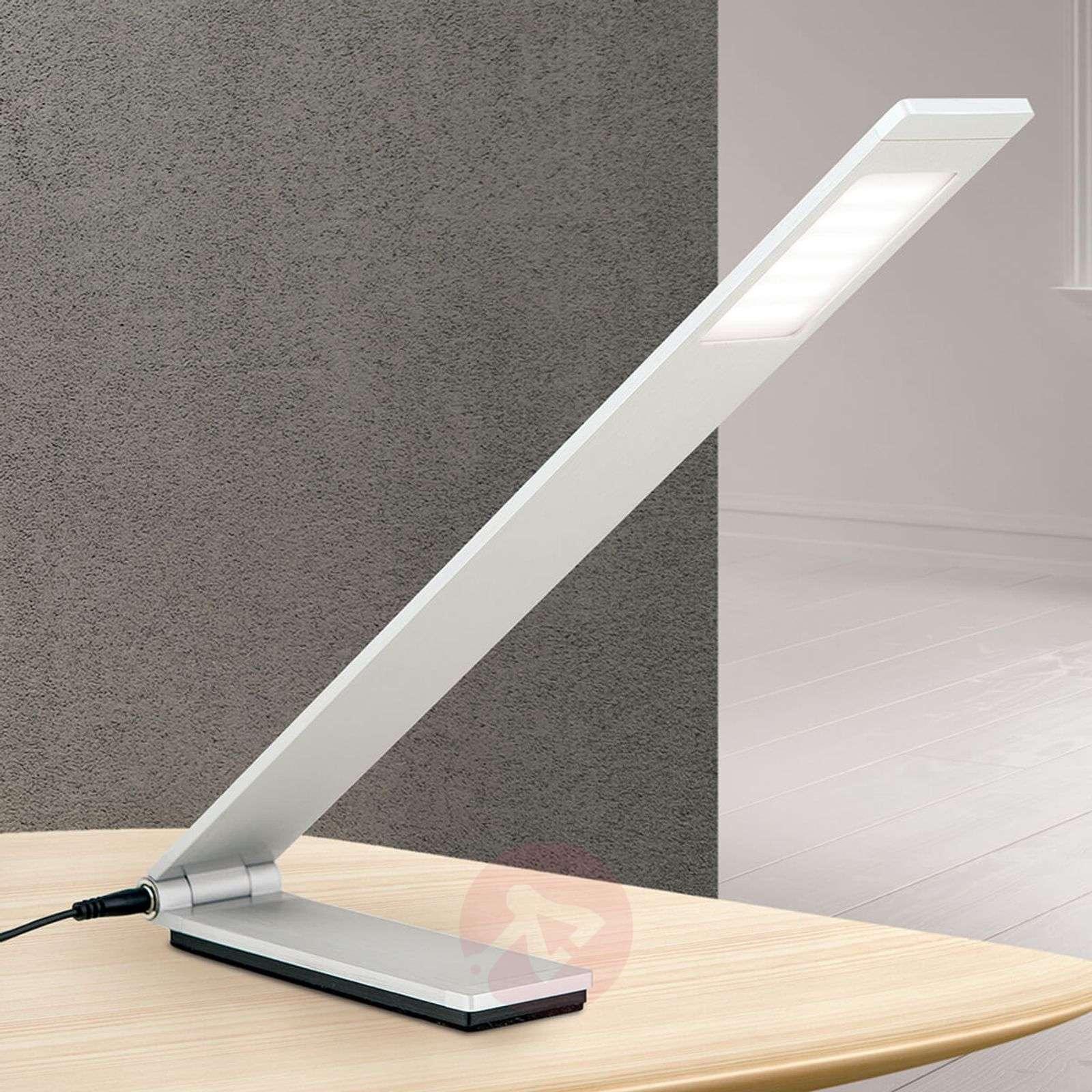 Led Table Matt Neville Lamp Aluminium Folding Aj54L3R