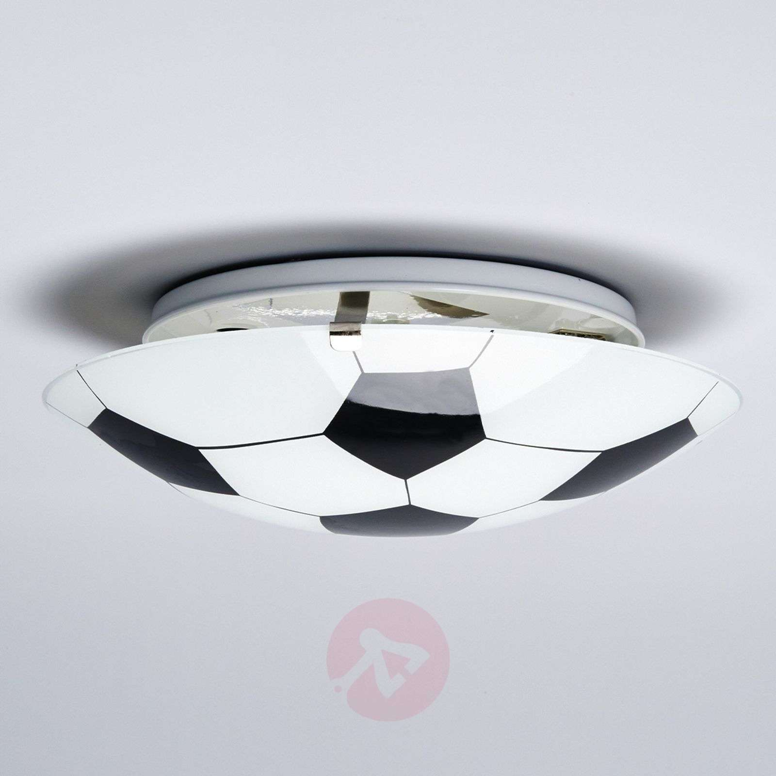 Football Black/White Ceiling Lamp-9625002-03