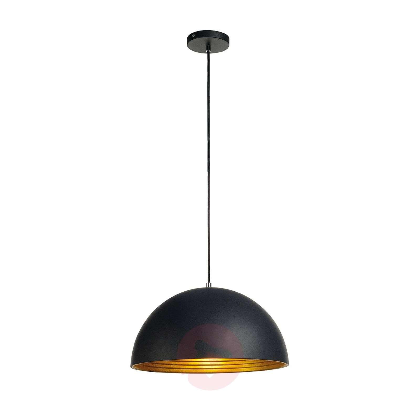 Forchini M Pendant Lamp 40 cm Black/Gold-5504426-01