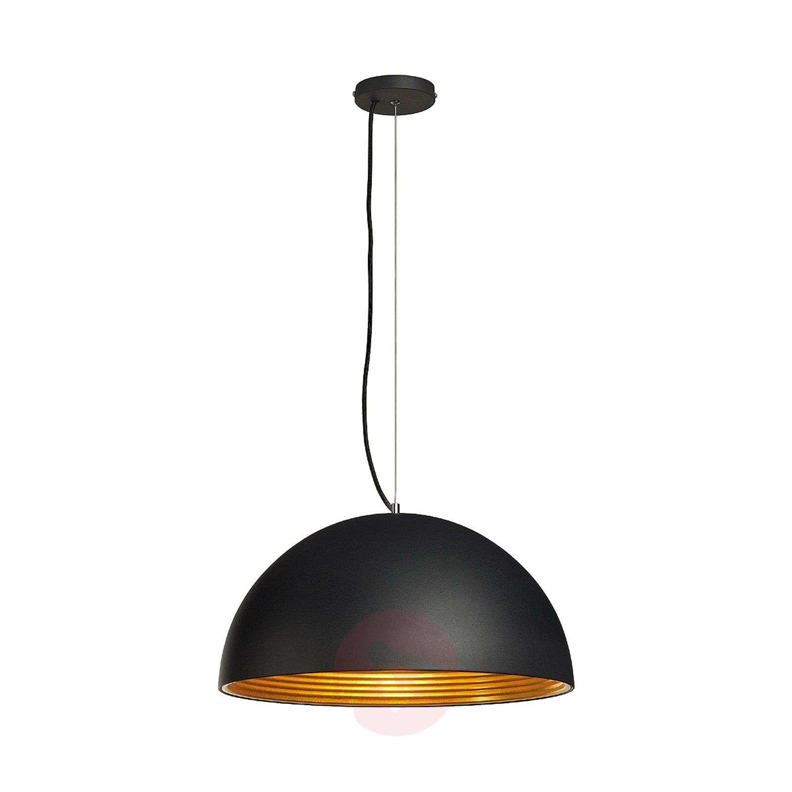 Forchini M Pendant Lamp, 50 cm, Black/Gold-5504428-01