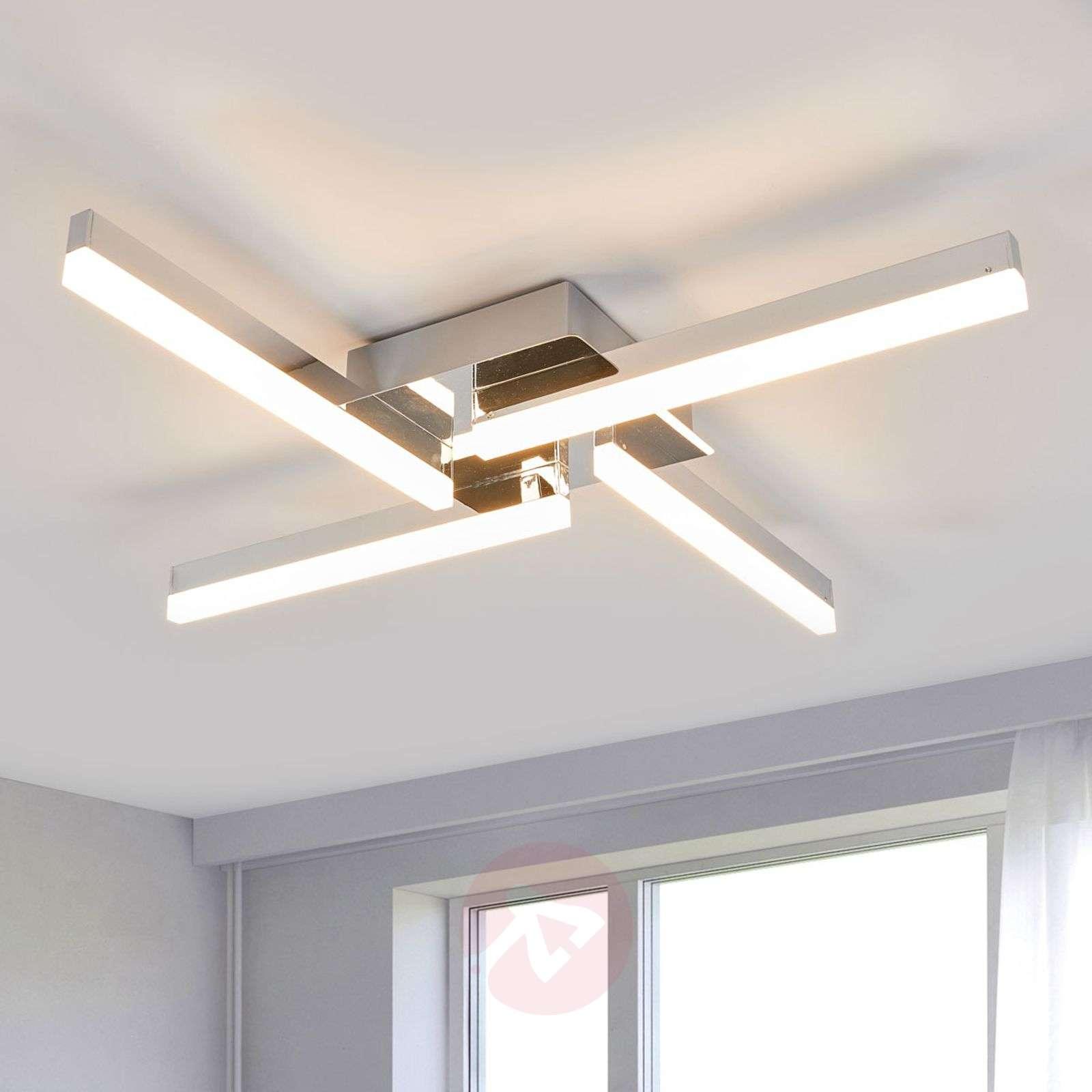 Four bulb led ceiling light patrik ip44