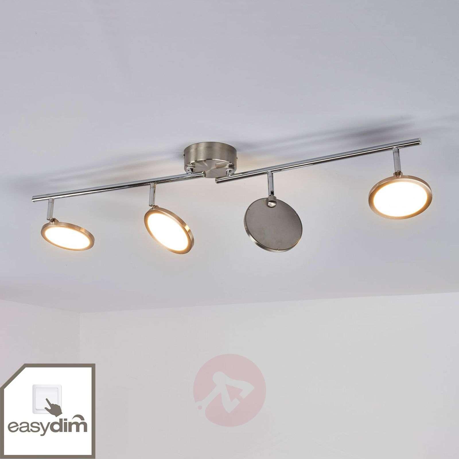 Four bulb tyrese easydim led ceiling light