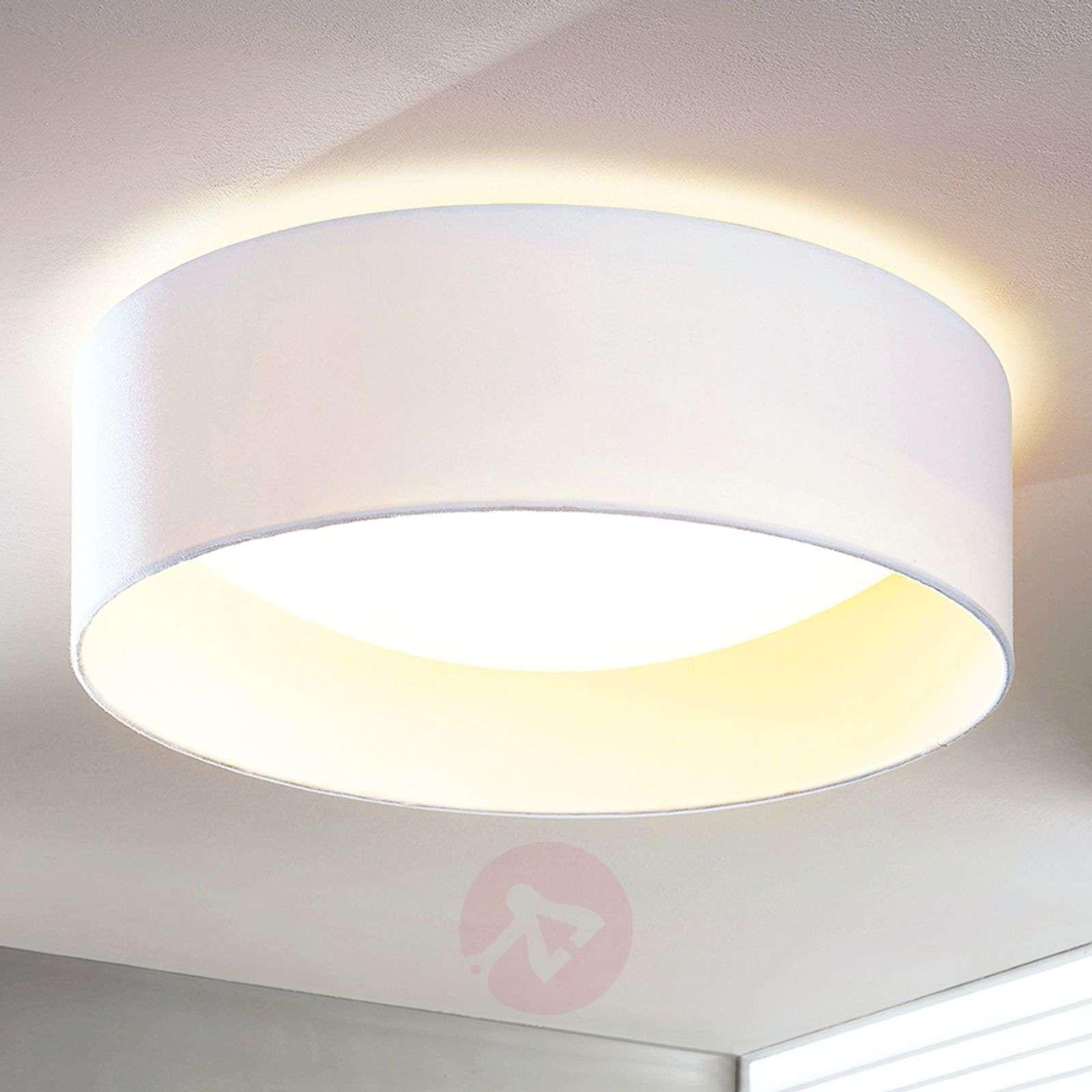 Franka white LED ceiling light, 41.5cm-9620722-012