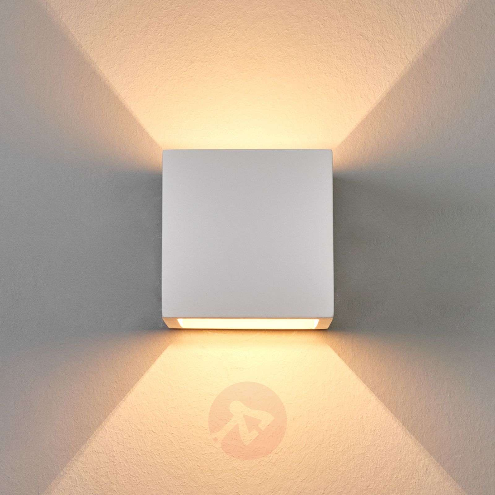 Freja Halogen Wall Light Discreet Plaster-9613001-01