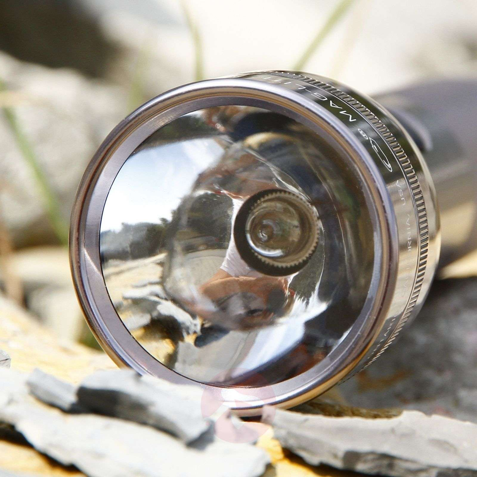 Functional Maglite torch 2 D-Cell, titanium-6535012-01