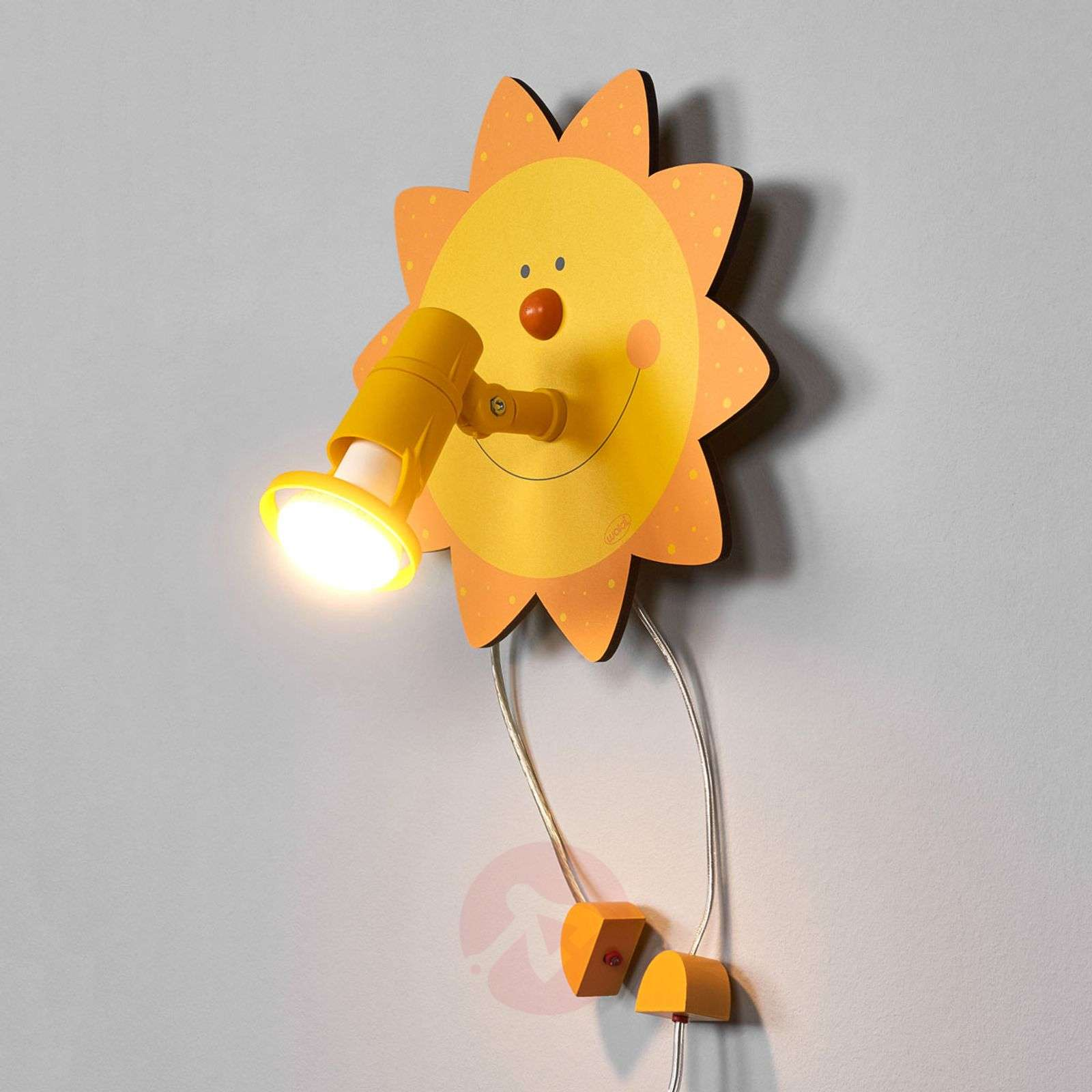 Funny Sun wall light-9606004-01