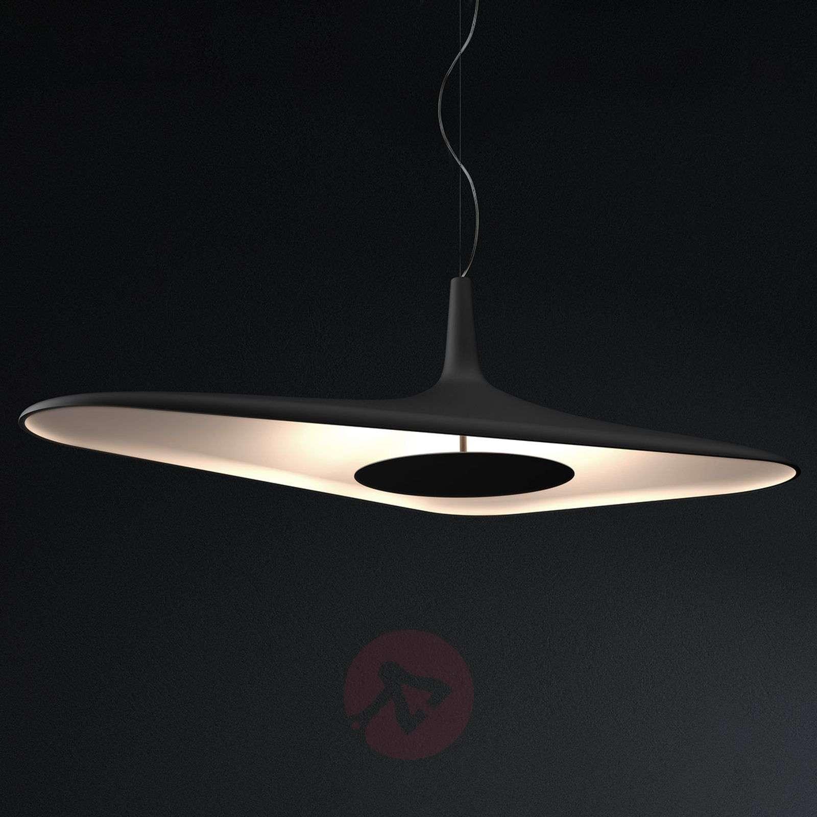 futuristic lighting. futuristic led pendant light soleil noir-6030176-02 lighting b