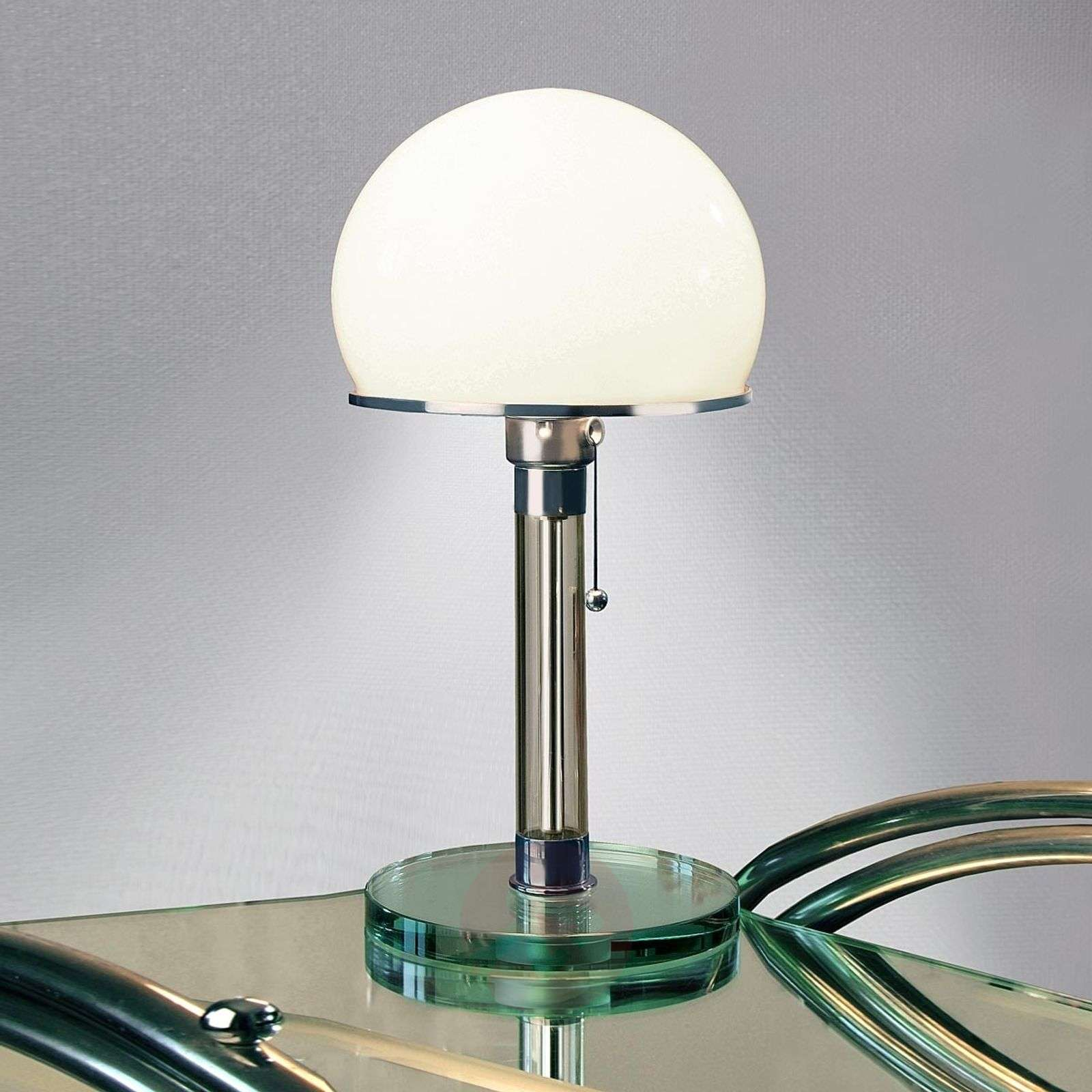 Glass-crafted Wagenfeld table lamp-9030003-01