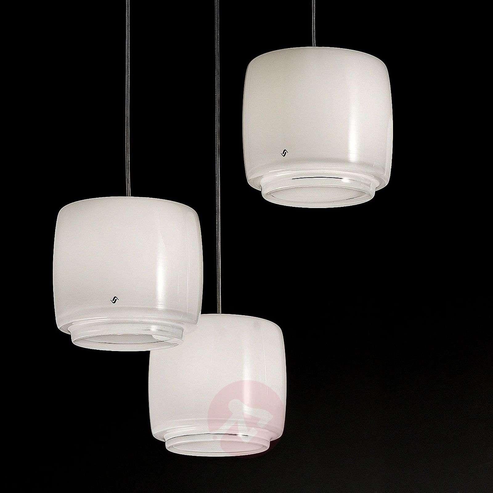 Glass hanging light Bot, diameter 16 cm-9508094-01