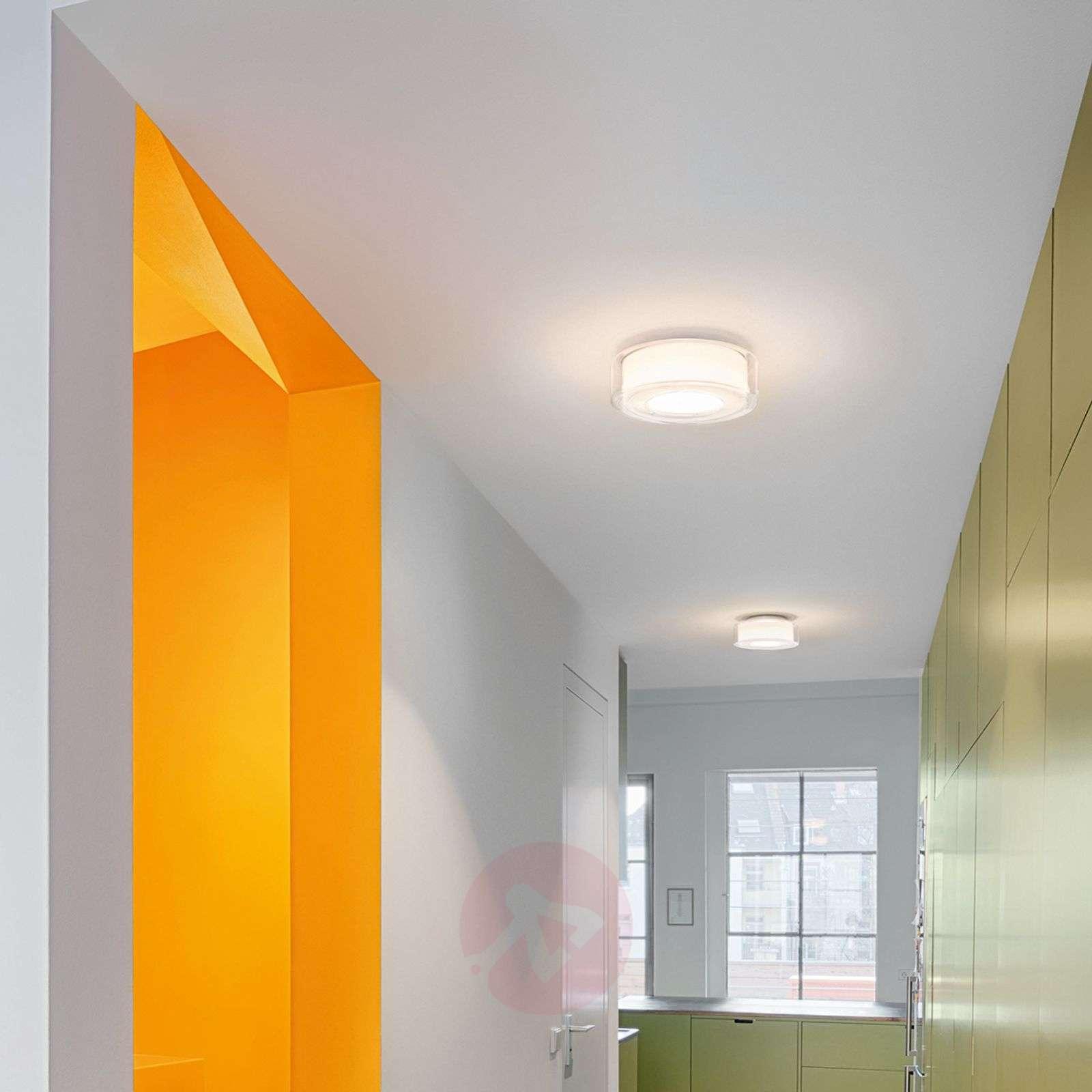 Glazed LED designer ceiling light Curling-8550016-01