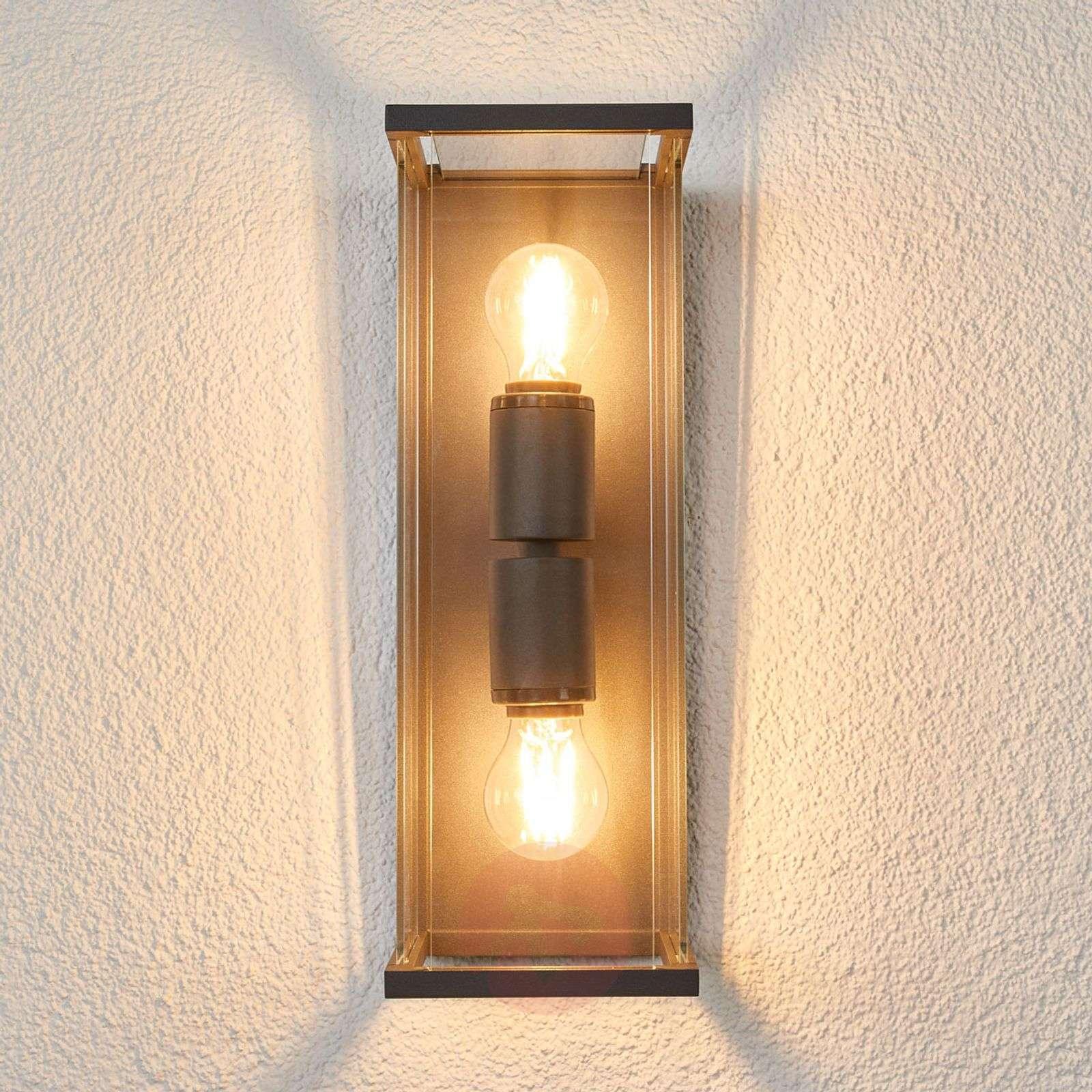 dea32bf3652 ... Glazed outdoor wall lamp Annalea-9616110-01 ...