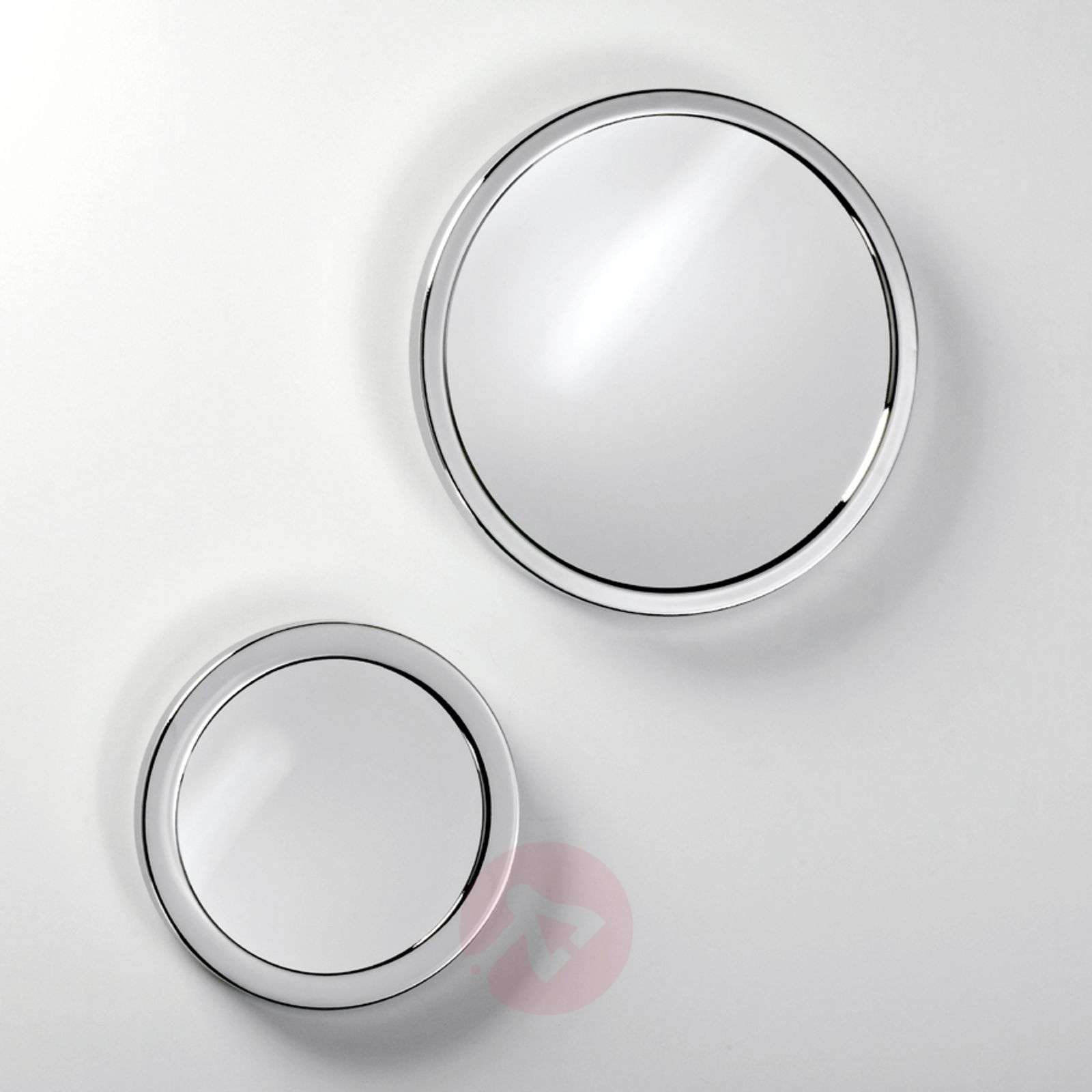 GLOBE cosmetic mirror with suction cups-2504212X-01