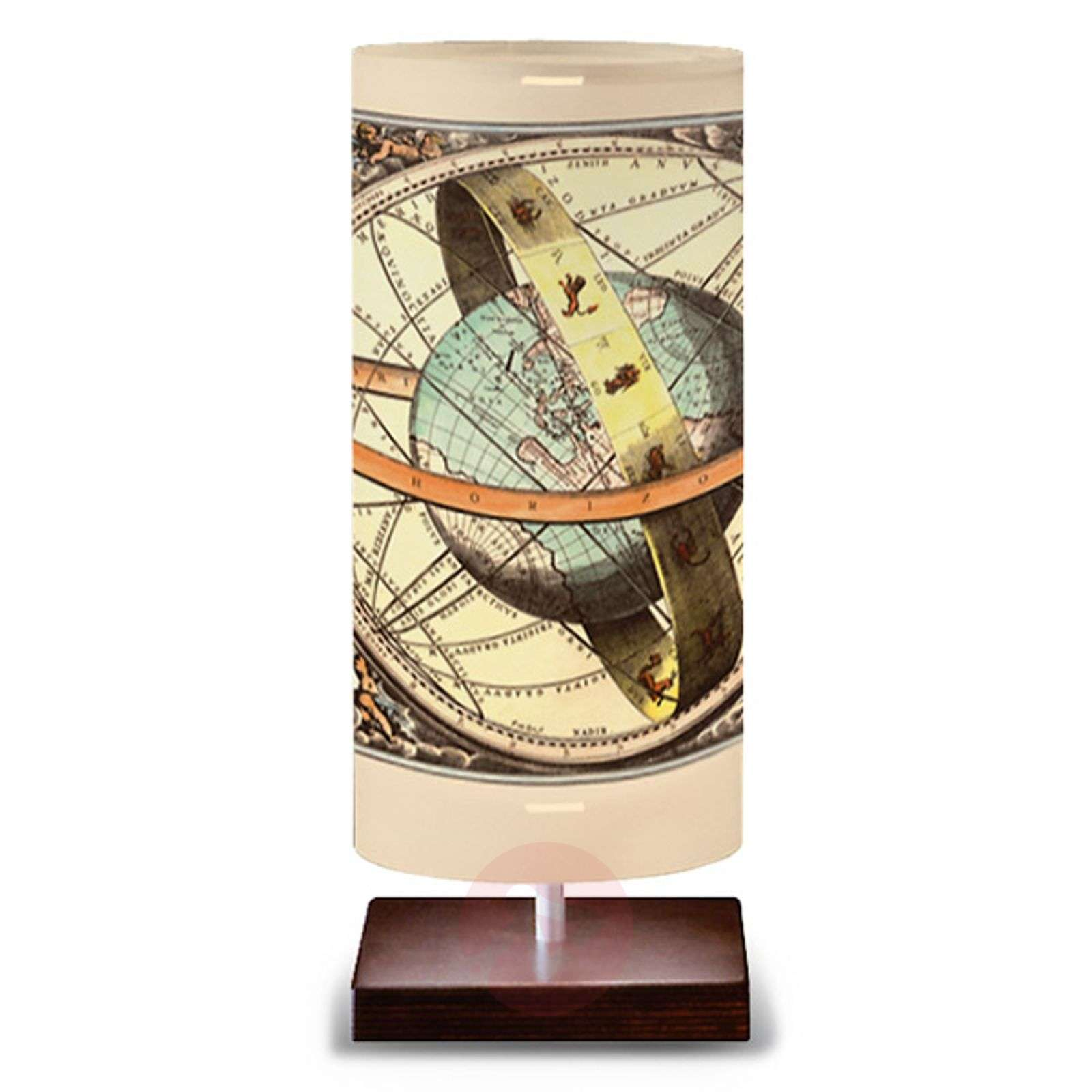 Globe table lamp with a globe design-1056090-01
