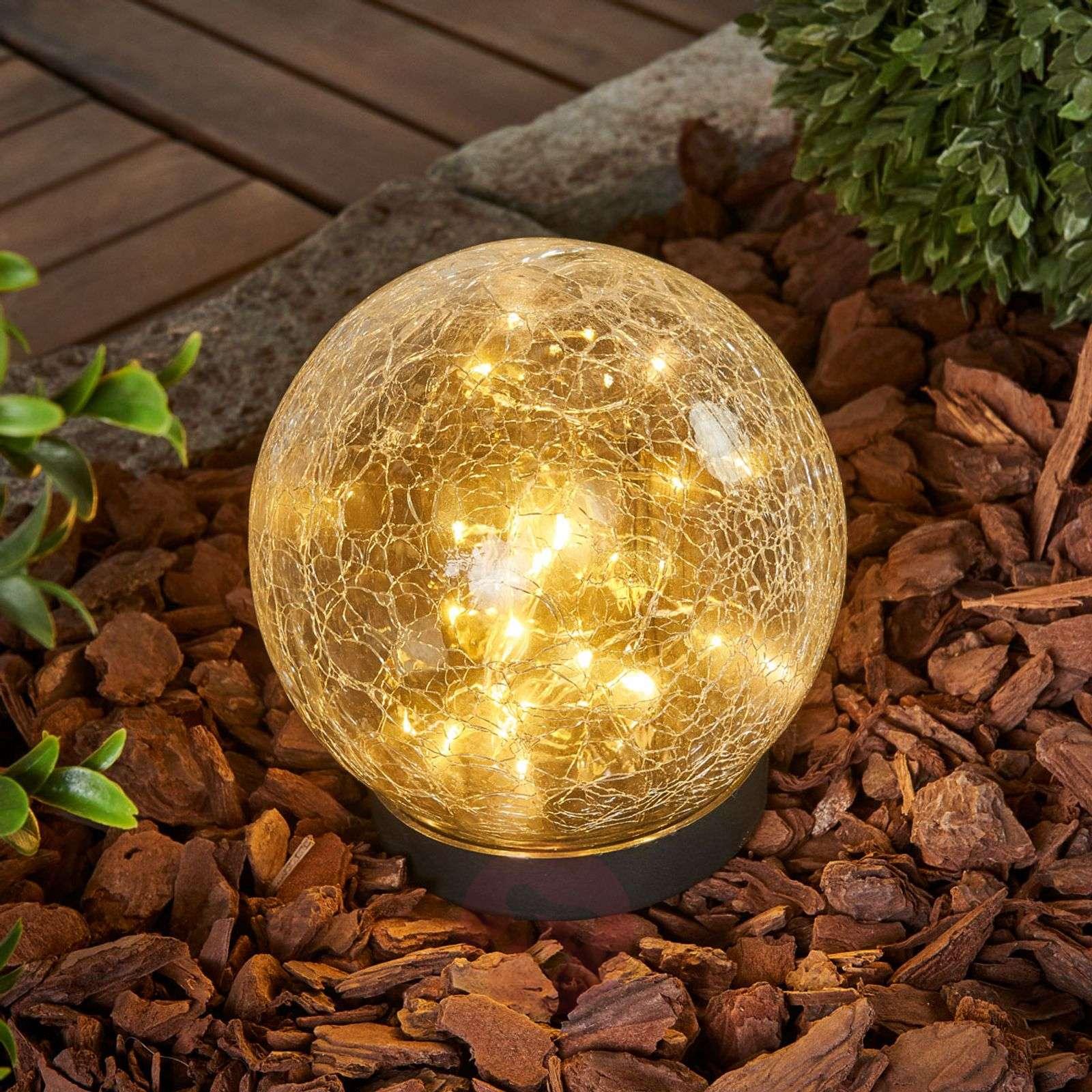 Glory spherical solar table lamp-1523060-01