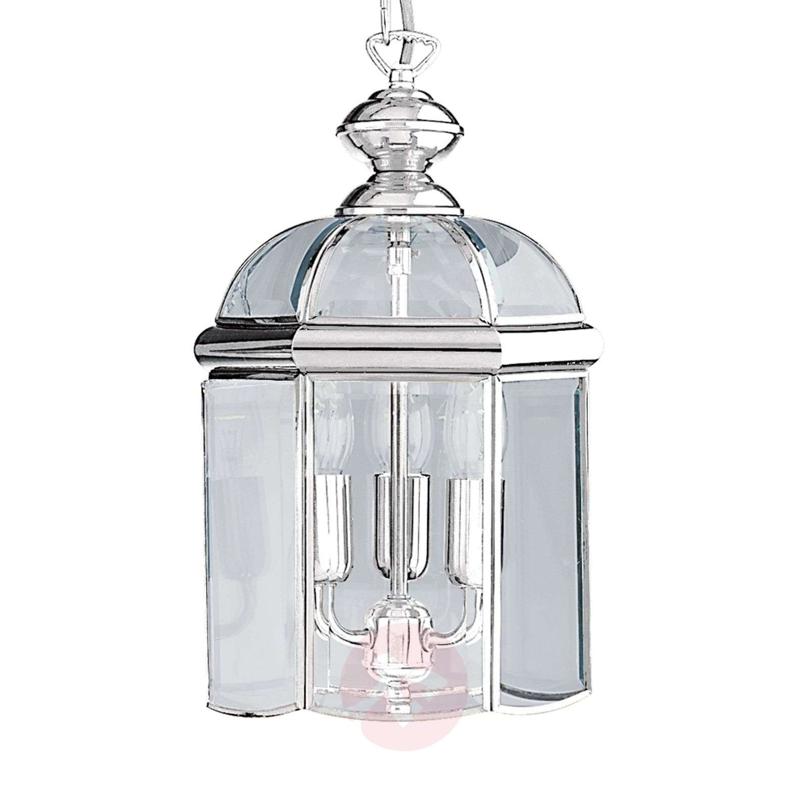 glossy chrome ARLIND hanging lamp, chrome-8570176-01