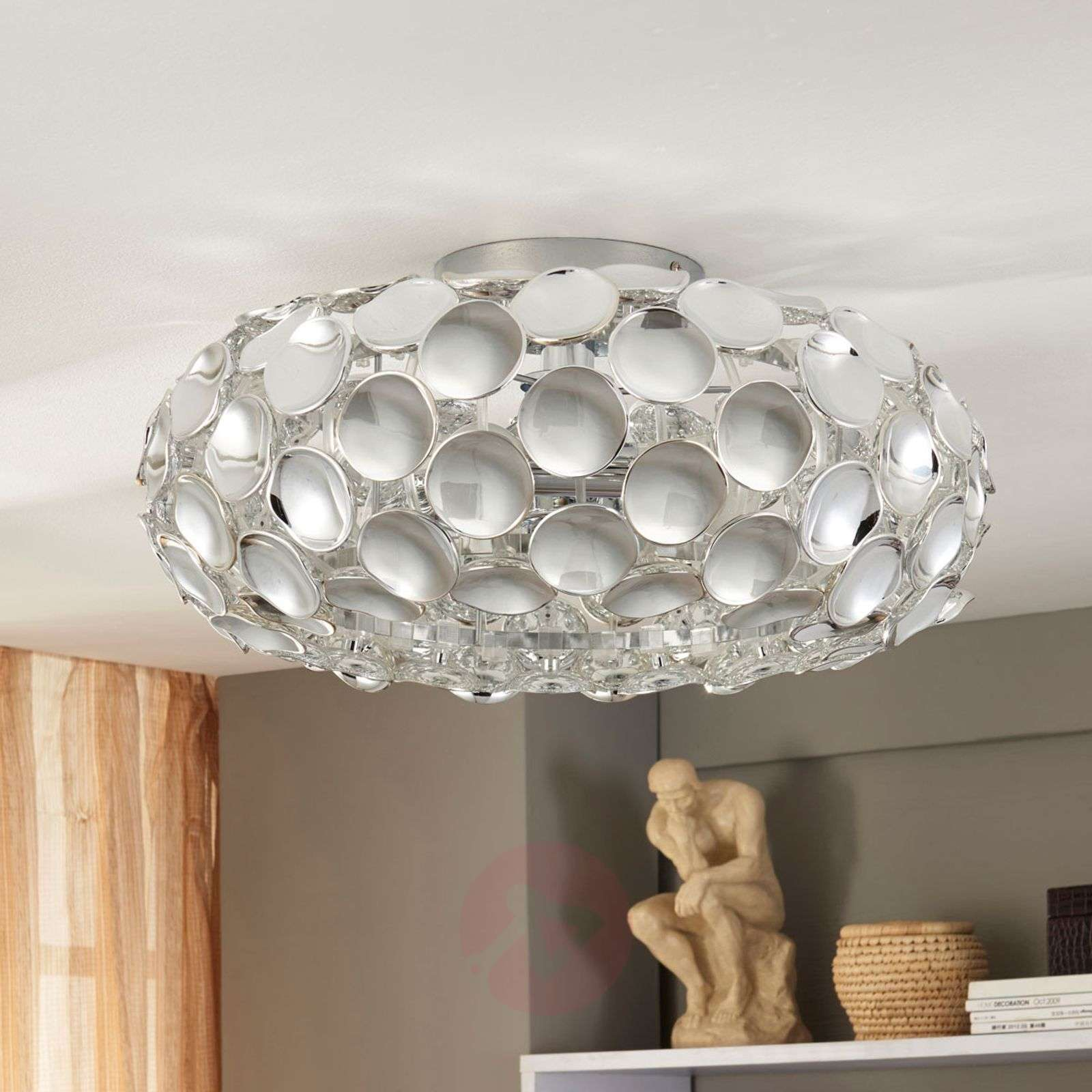 Glossy chrome ceiling lamp Reza-9621127-02