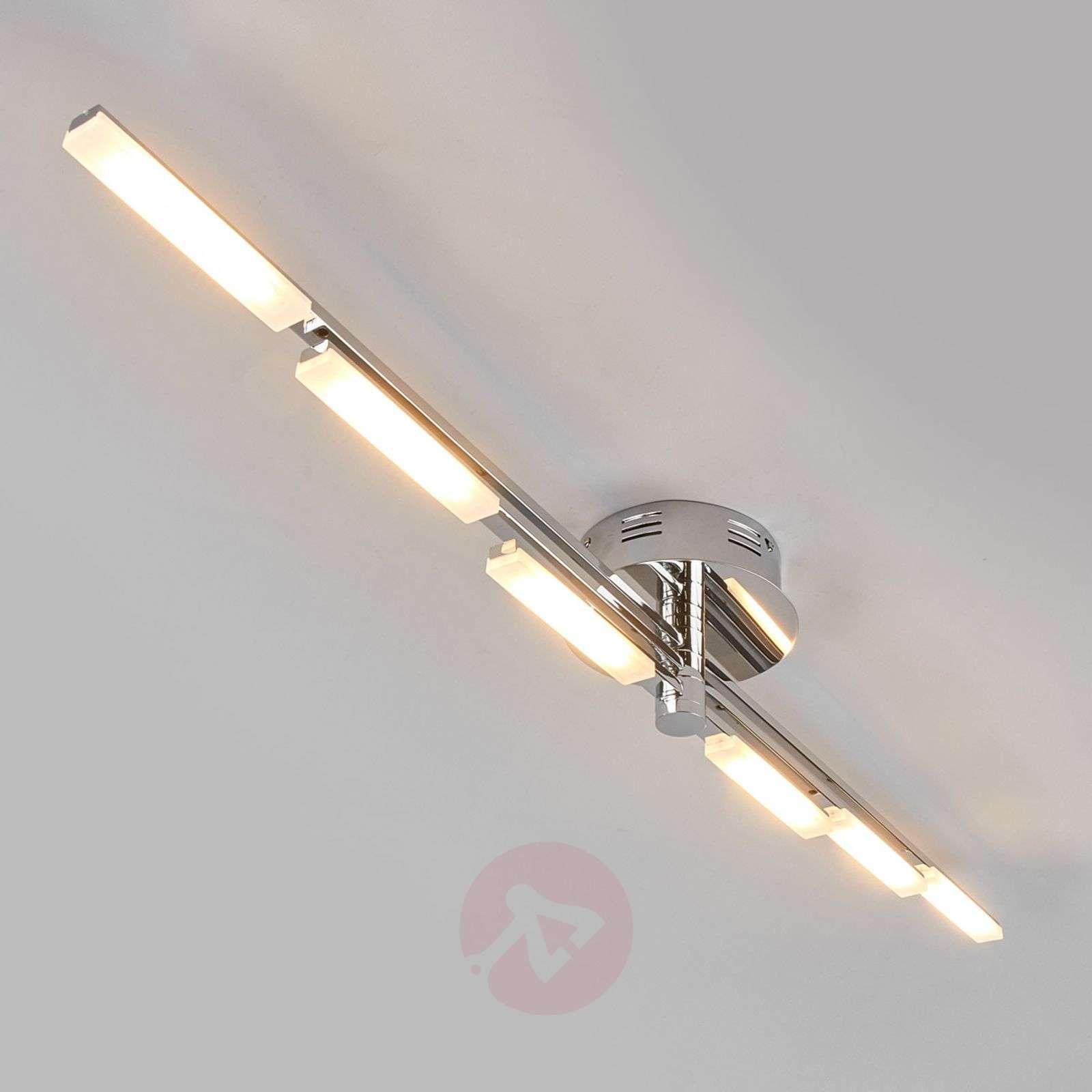 Glossy chrome LED ceiling light Natalia-9640053-01
