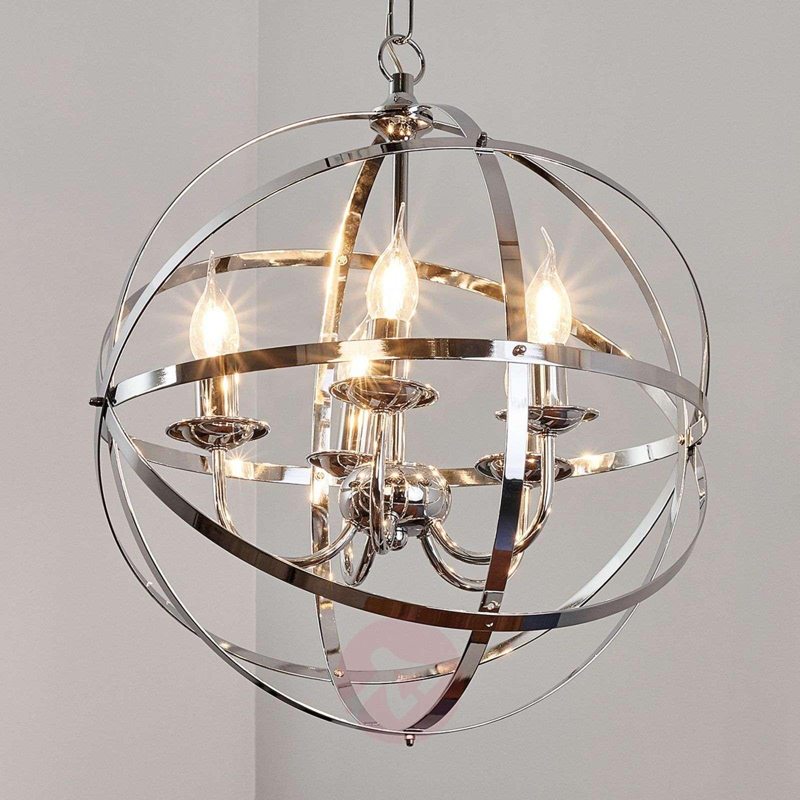 Glossy chrome Patrisia pendant lamp-9973006-01