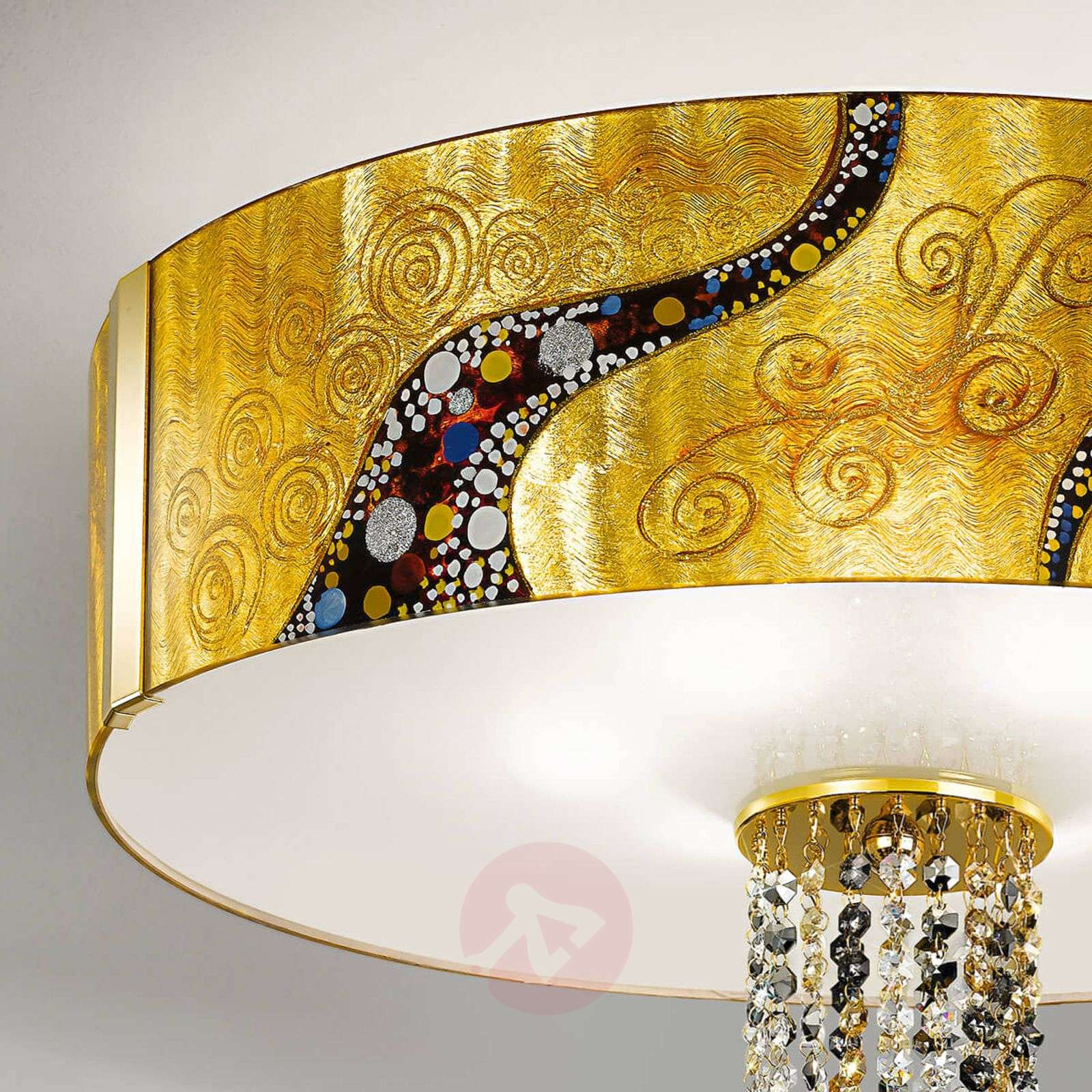 Gold coloured ceiling light emozione kiss lights gold coloured ceiling light emozione kiss 5560459 01 aloadofball Gallery