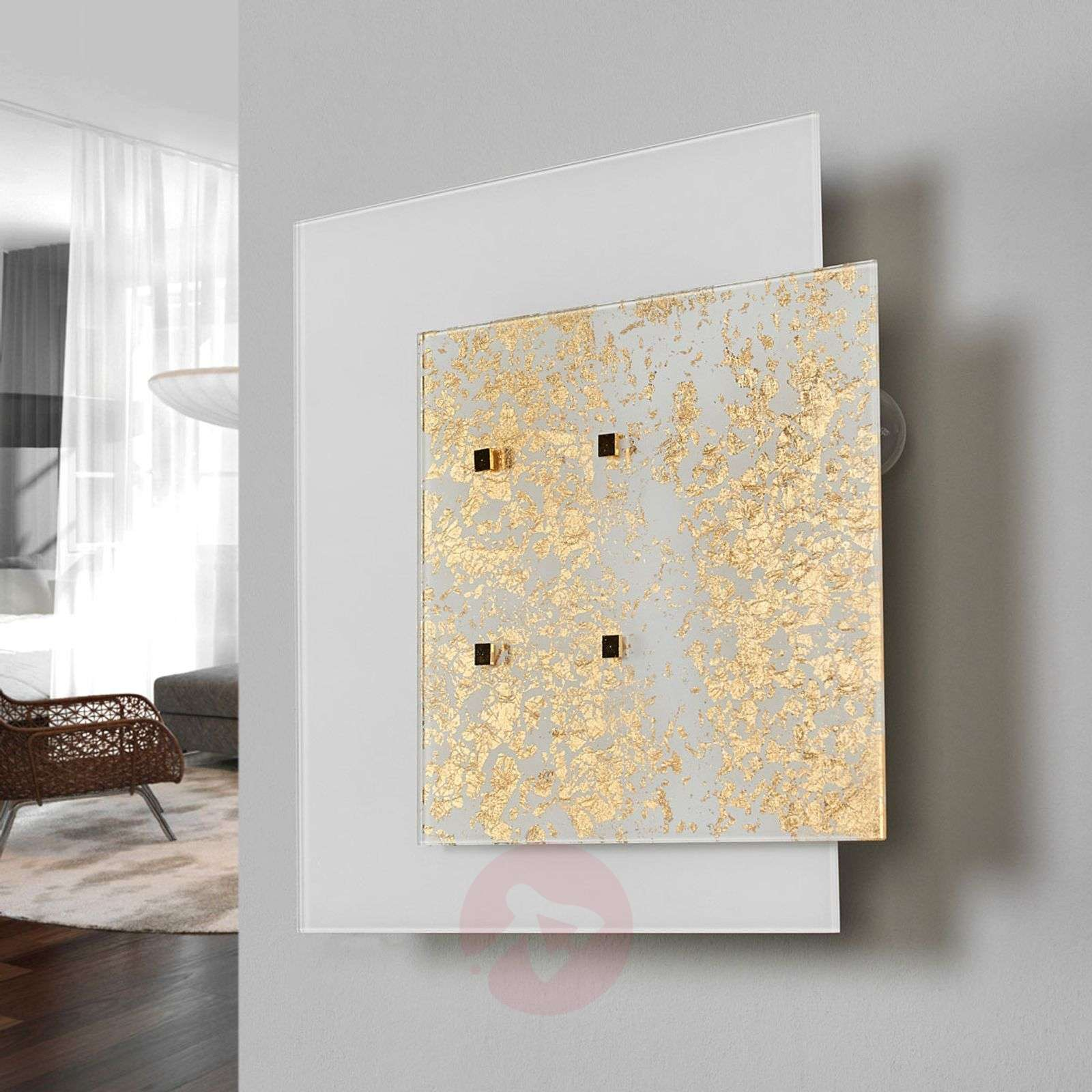 Gold leaf wall light Royal-6059389-01