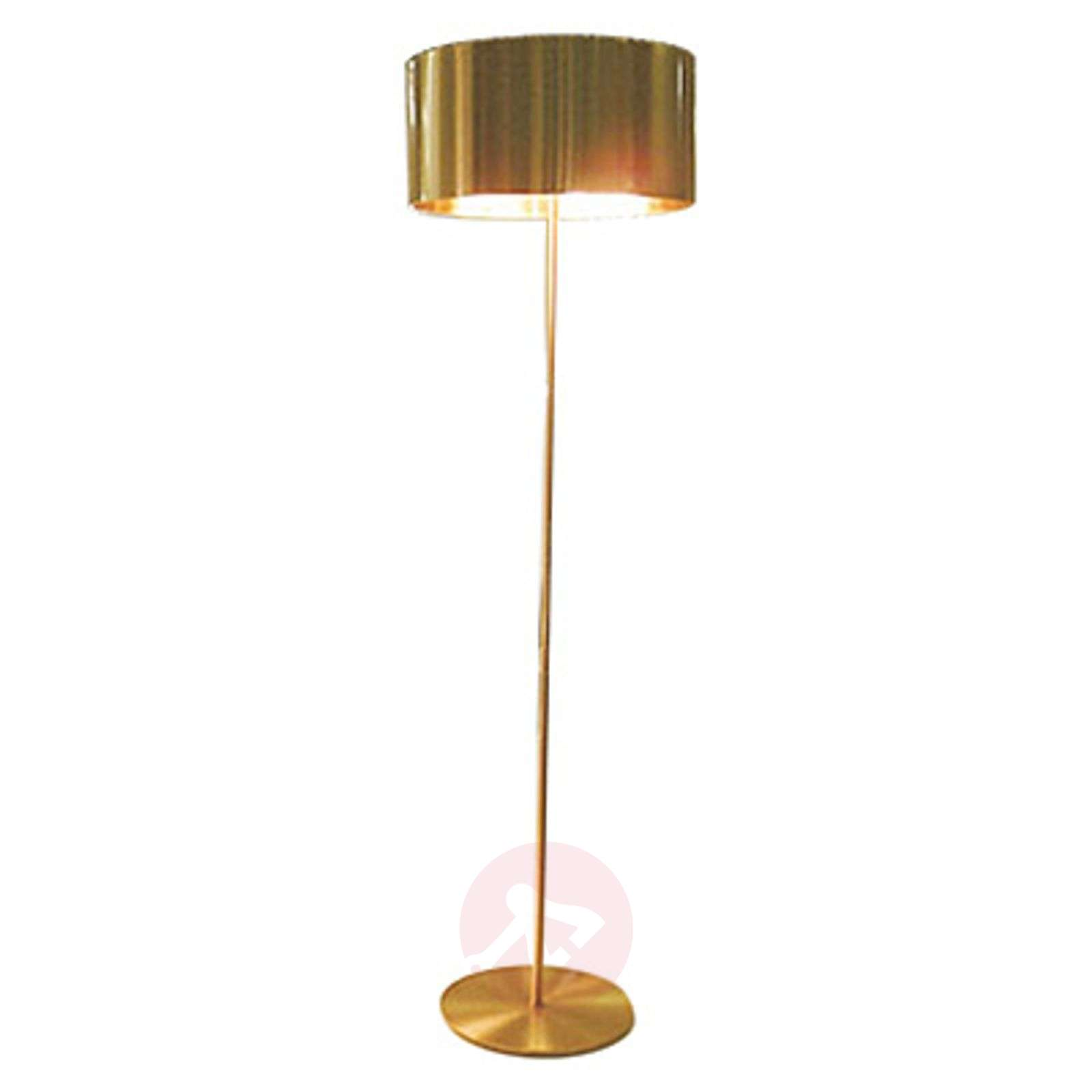 Golden Designer Floor Lamp Switch Lights Ie