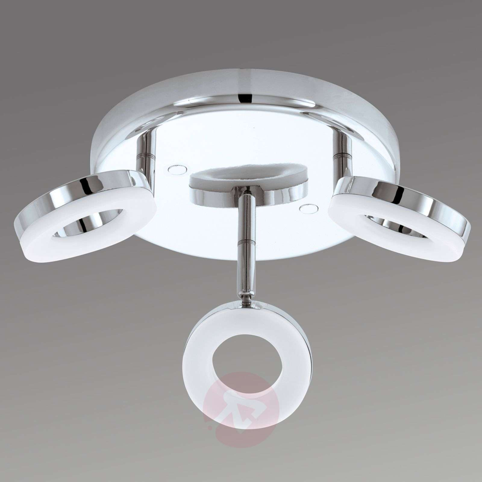 Gonaro 3-light circ. ceiling spotlight with LEDs-3031849-01