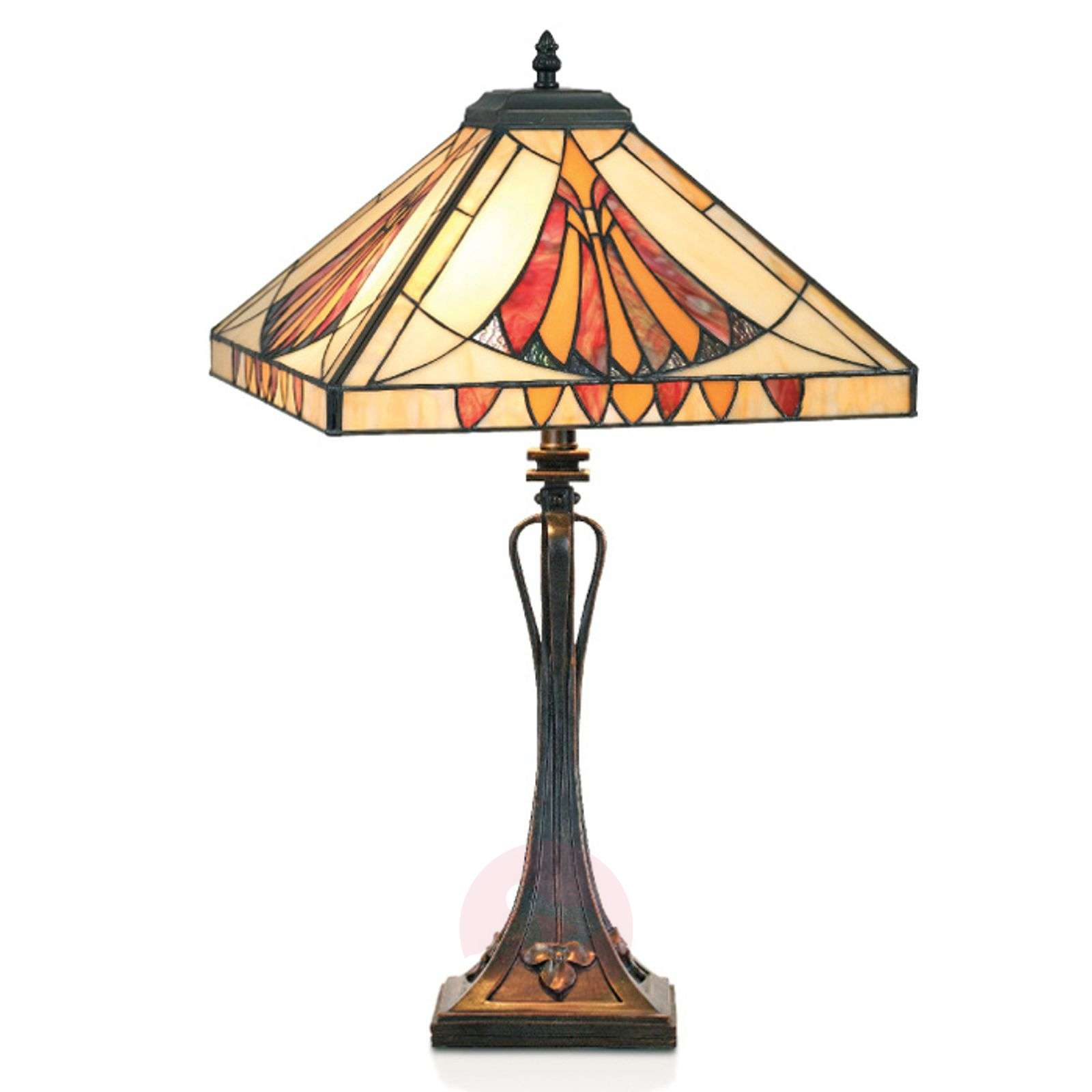 Graceful table lamp AMALIA in the Tiffany style-1032191-01