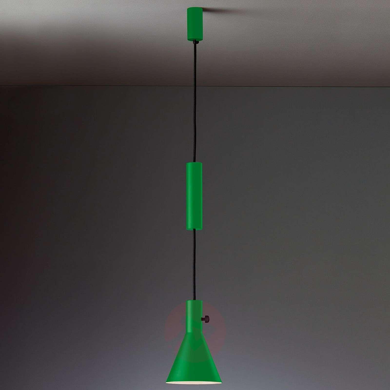 Green designer LED hanging light Eleu-9030226-01