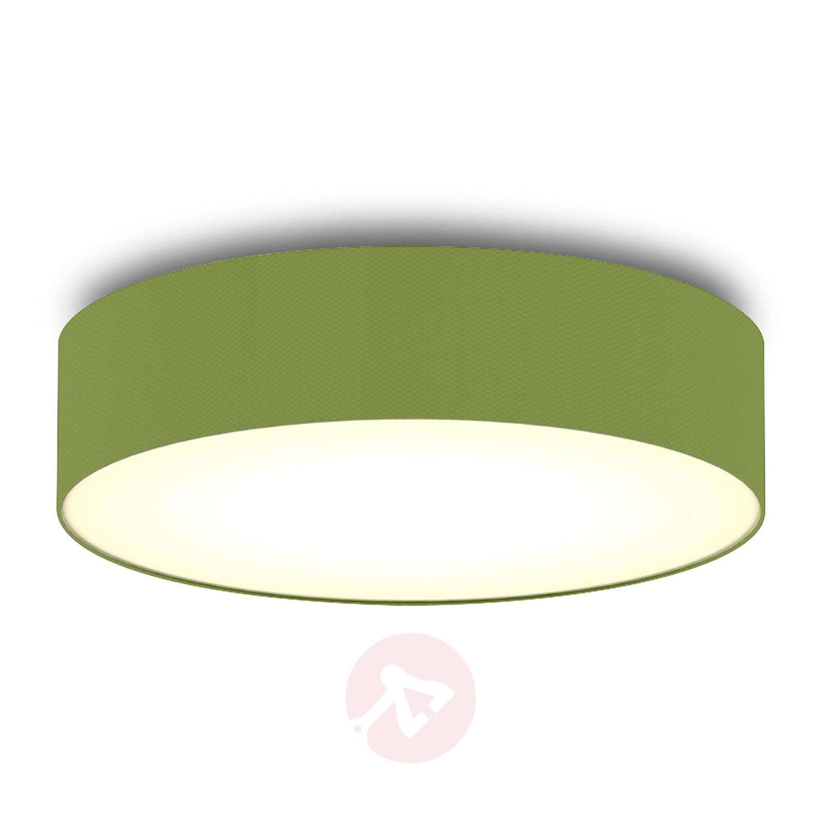 Green fabric ceiling light Ceiling Dream 40 cm-8567103-01