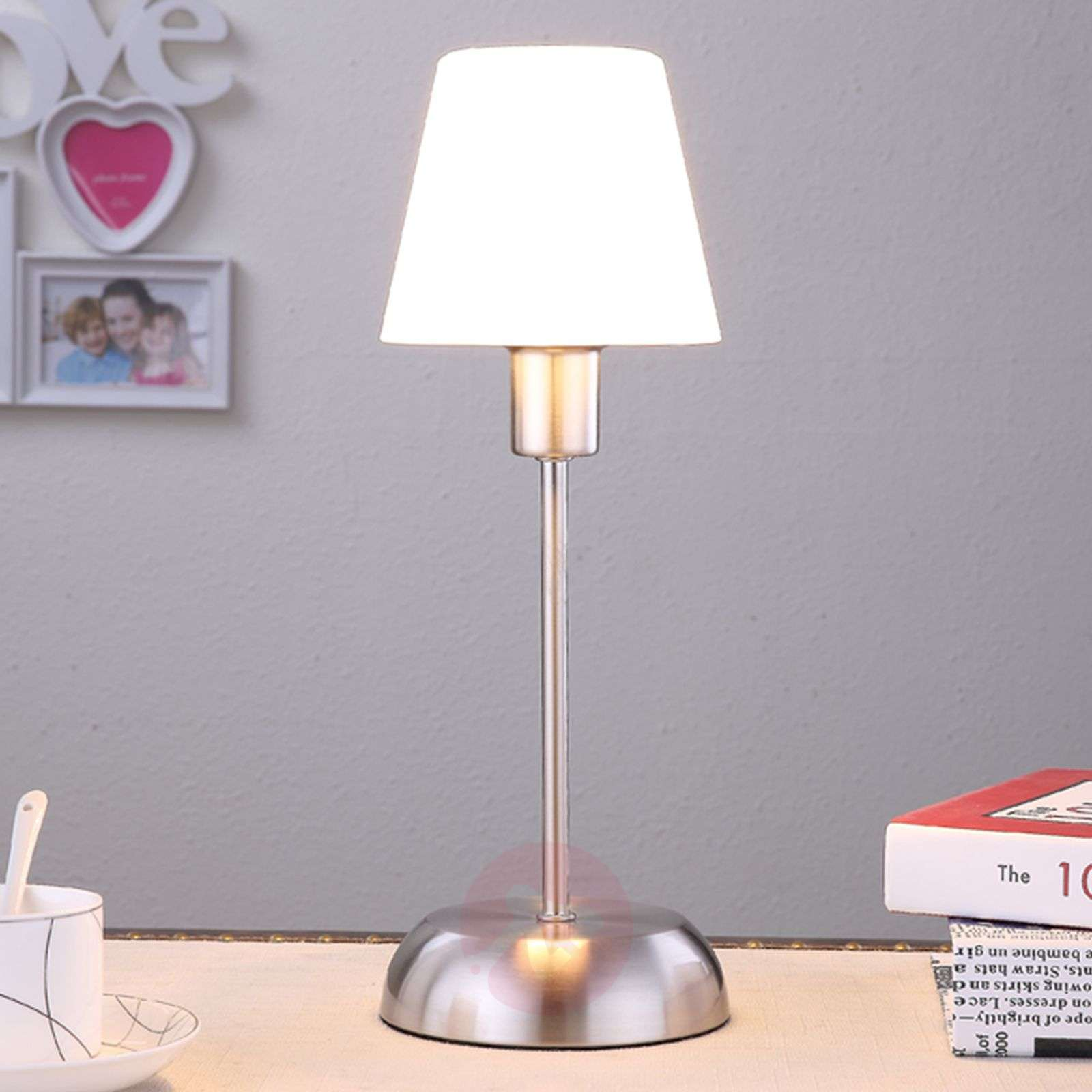Gregor table lamp with a glass lampshade-9620806-01