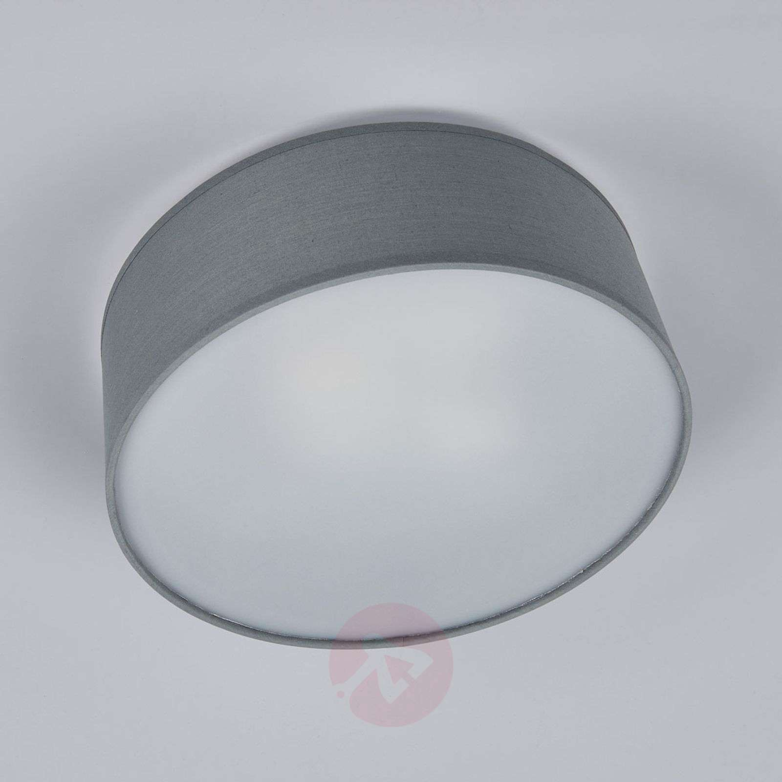 Grey fabric ceiling light Ceiling Dream-8567095X-02