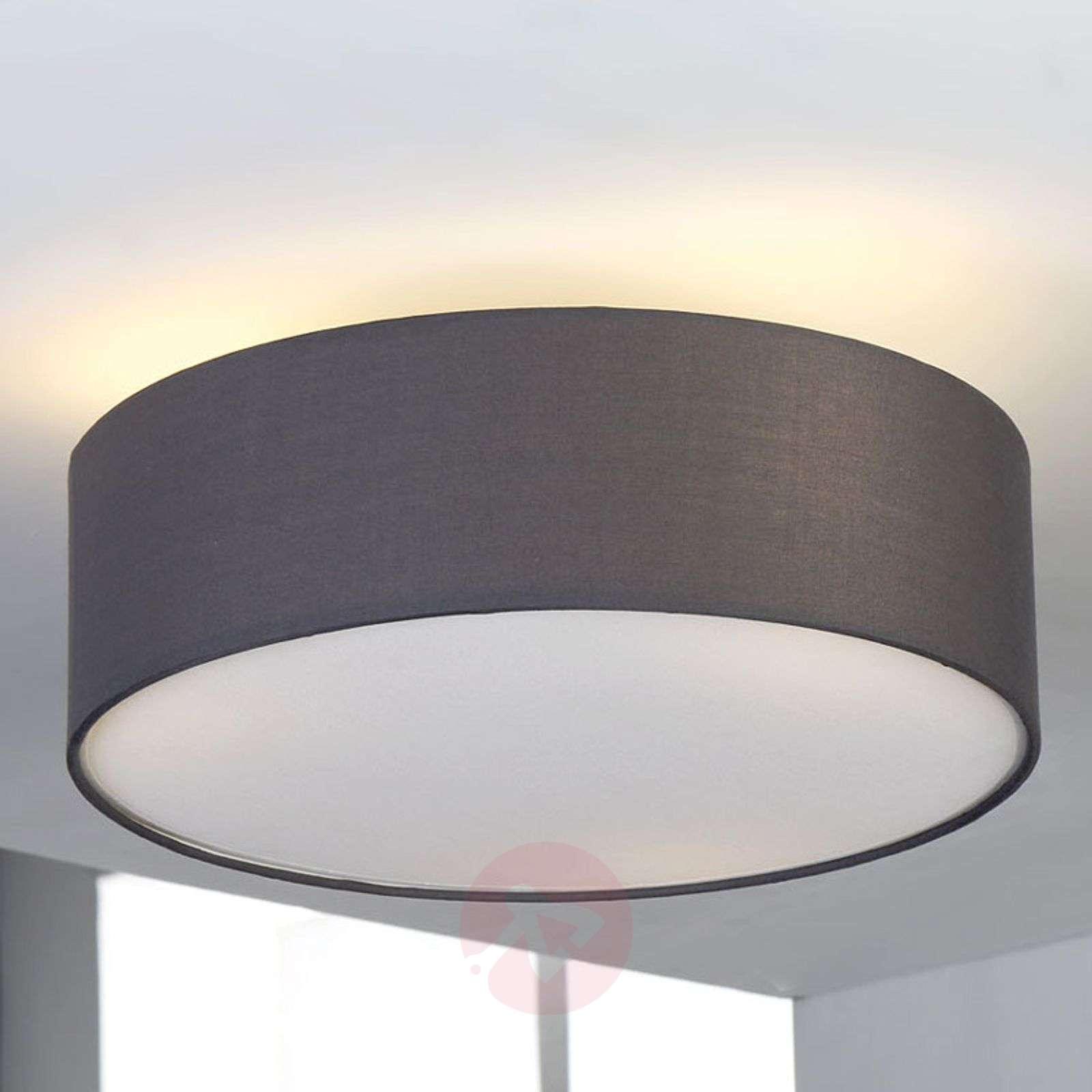 Grey fabric ceiling light Sebatin-9620334-01
