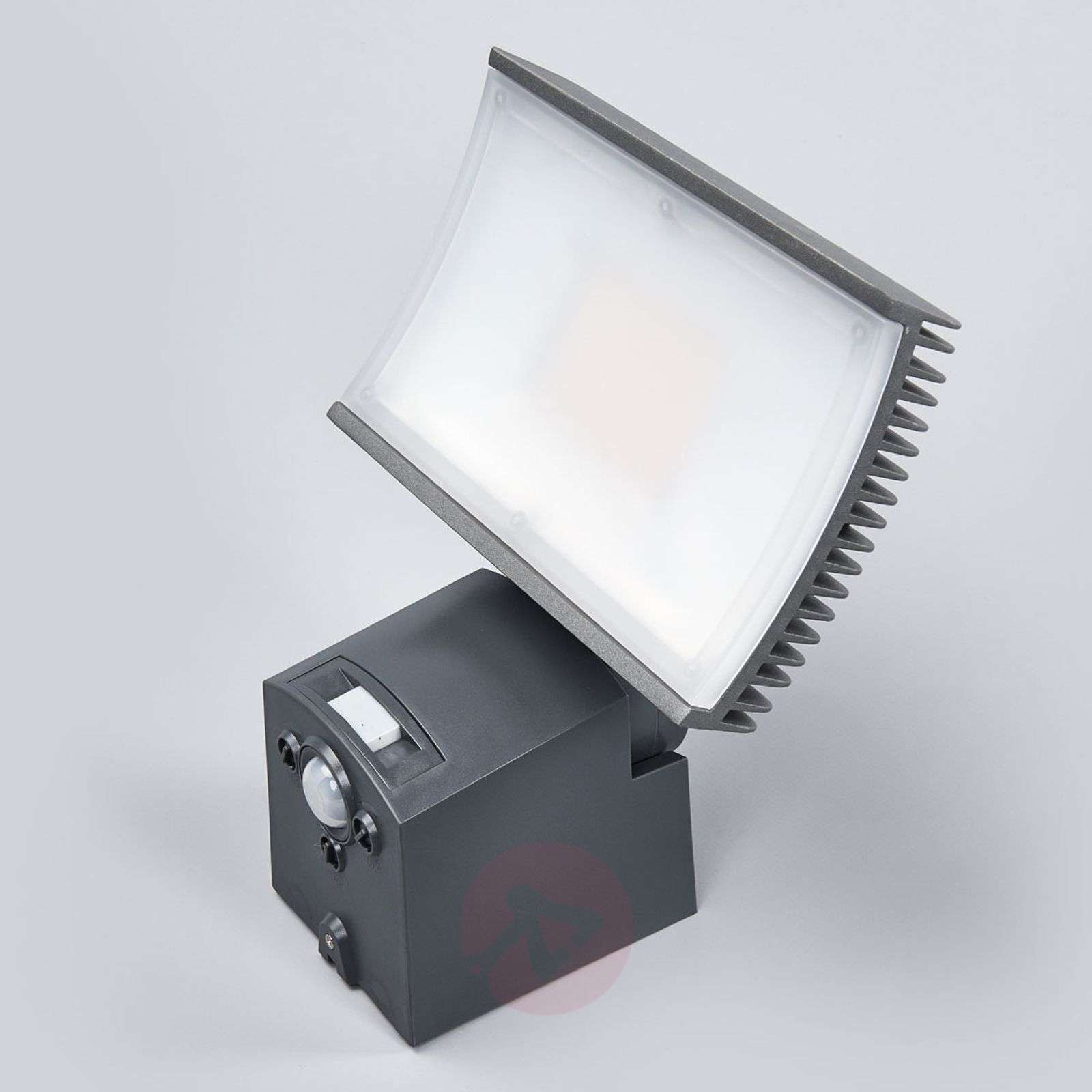 Led outdoor wall lamp floodlight w ir sensor lights grey led outdoor wall lamp floodlight w ir sensor 7261180 01 aloadofball Image collections