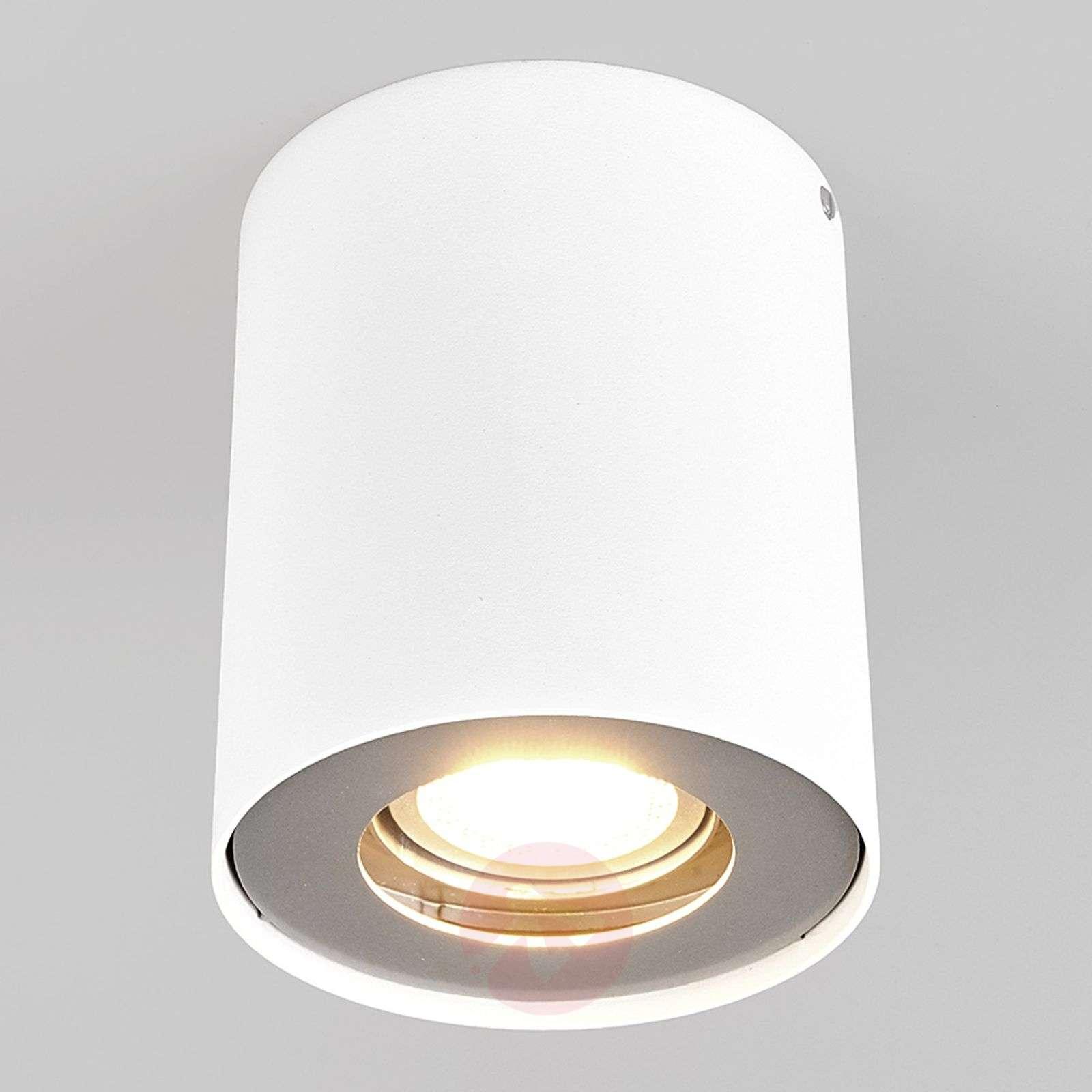 Gu10 led downlight giliano 1 bulb round white 9975001 01