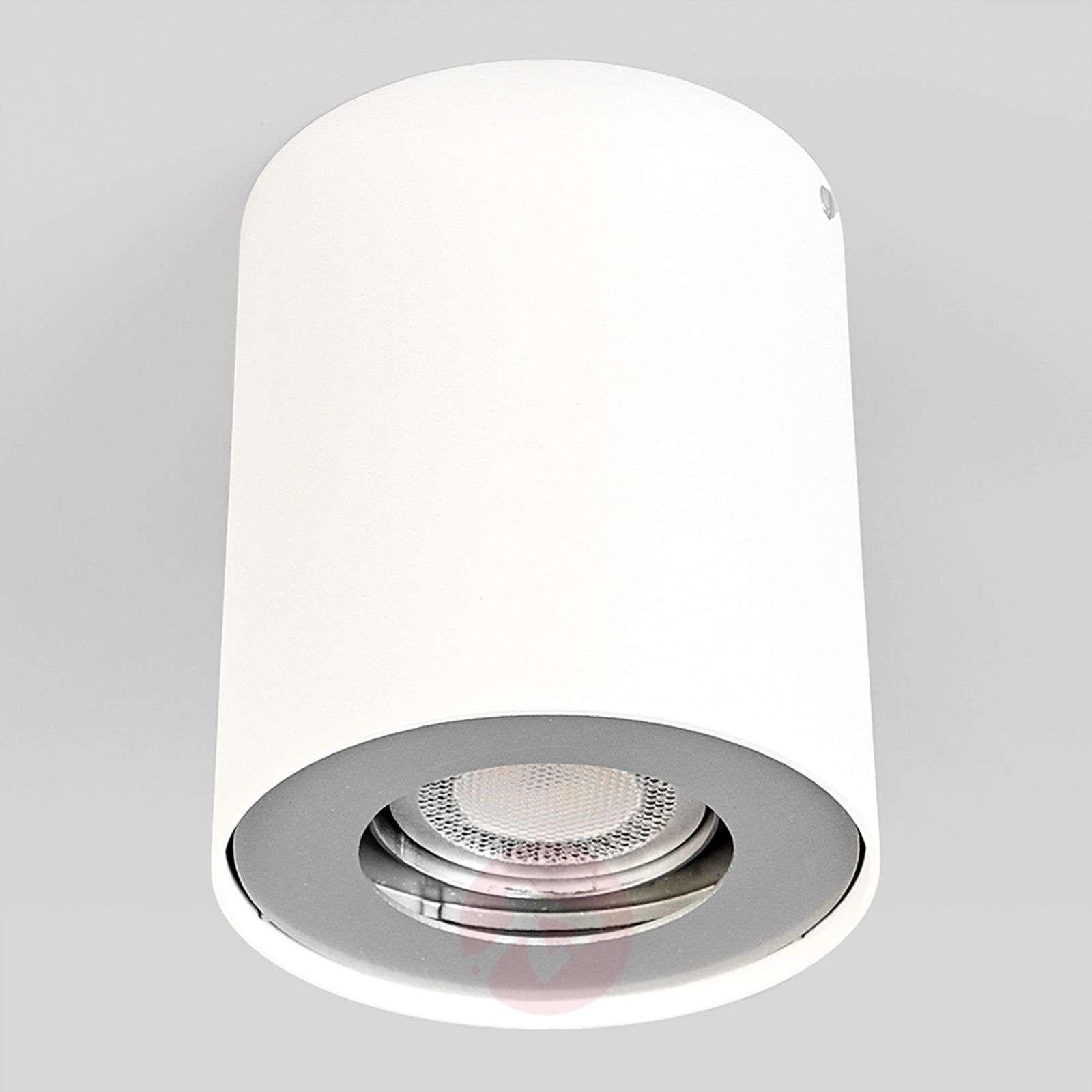 GU10 LED downlight Giliano, 1-bulb, round, white-9975001-01