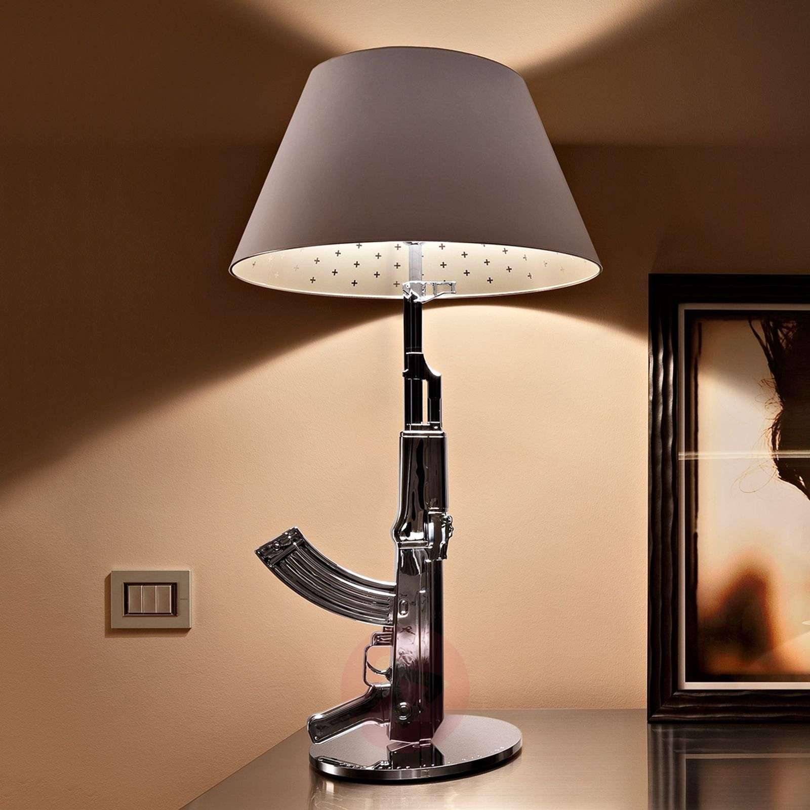 Guaranteed eye-catcher table lamp TABLE GUN-3510106X-01