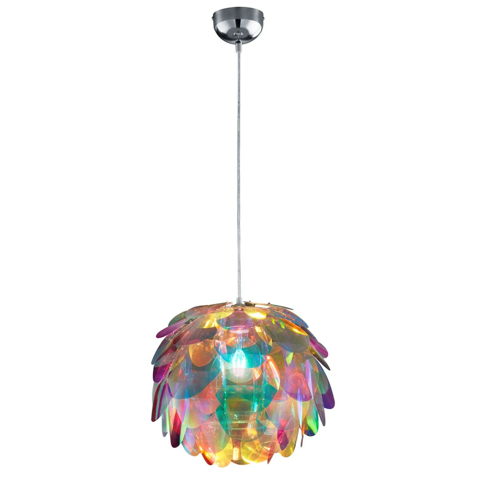 Hanging light Clover in rainbow colours-8029191-01