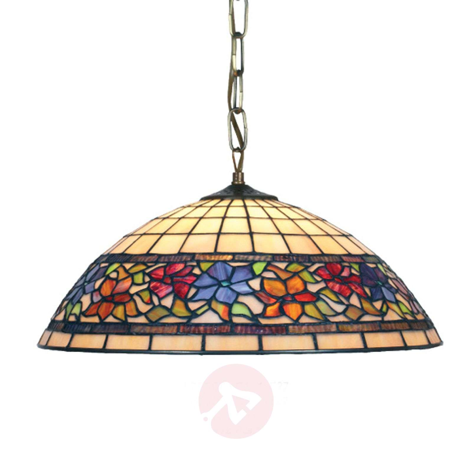 Hanging light Flora, Tiffany-style-1032126X-01