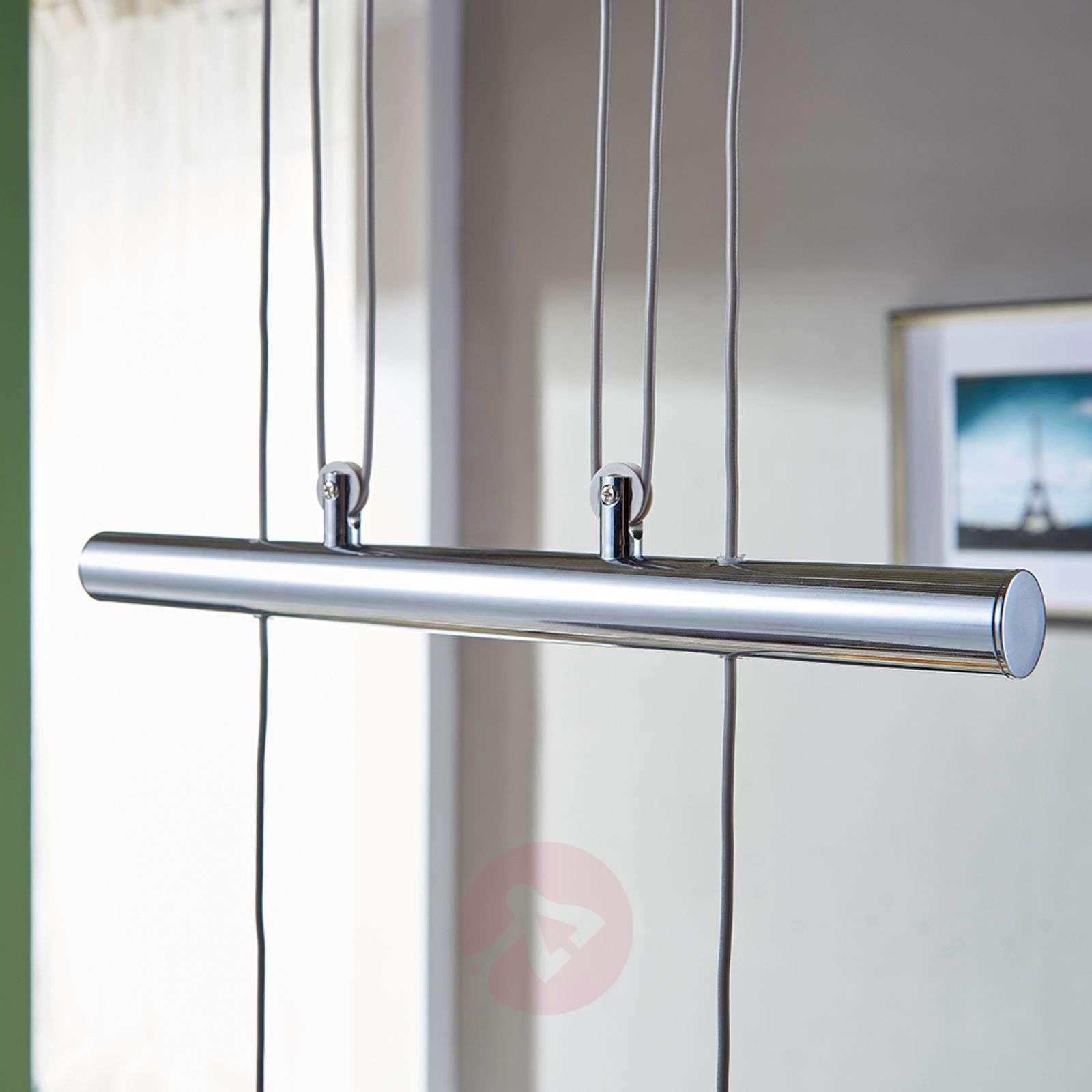 Height-adjustable LED linear pendant lamp Ticino-9620784-04