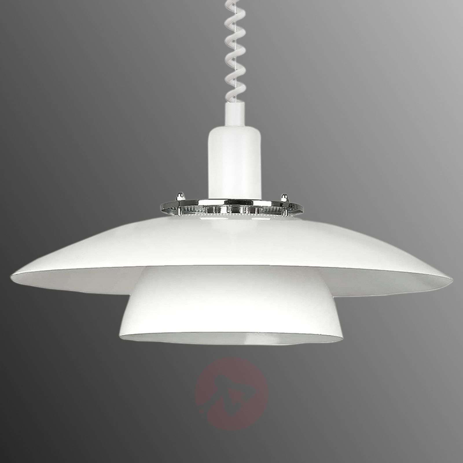 Height adjustable pendant light brenda in white lights height adjustable pendant light brenda in white 3031946 01 aloadofball Image collections