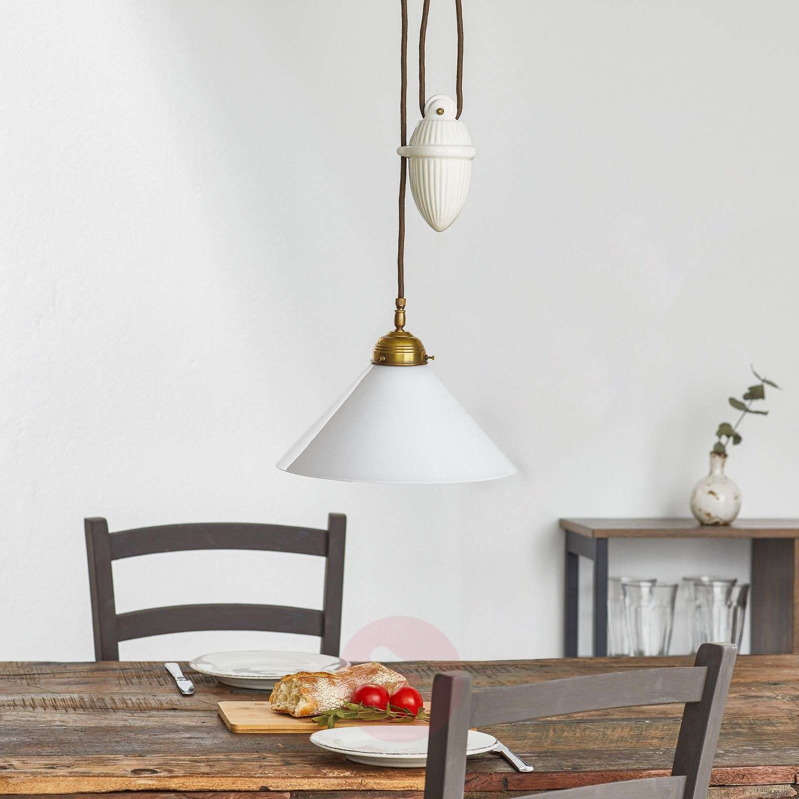 HELENE hanging light with rise and fall mechanism-1542022-01