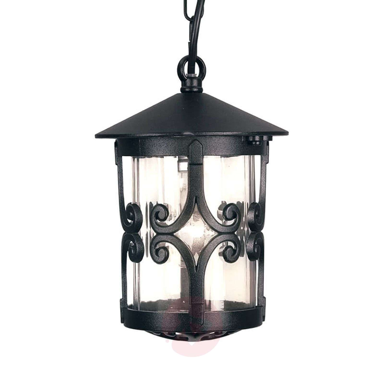 Hereford outdoor hanging light with flourishes-3048695-01