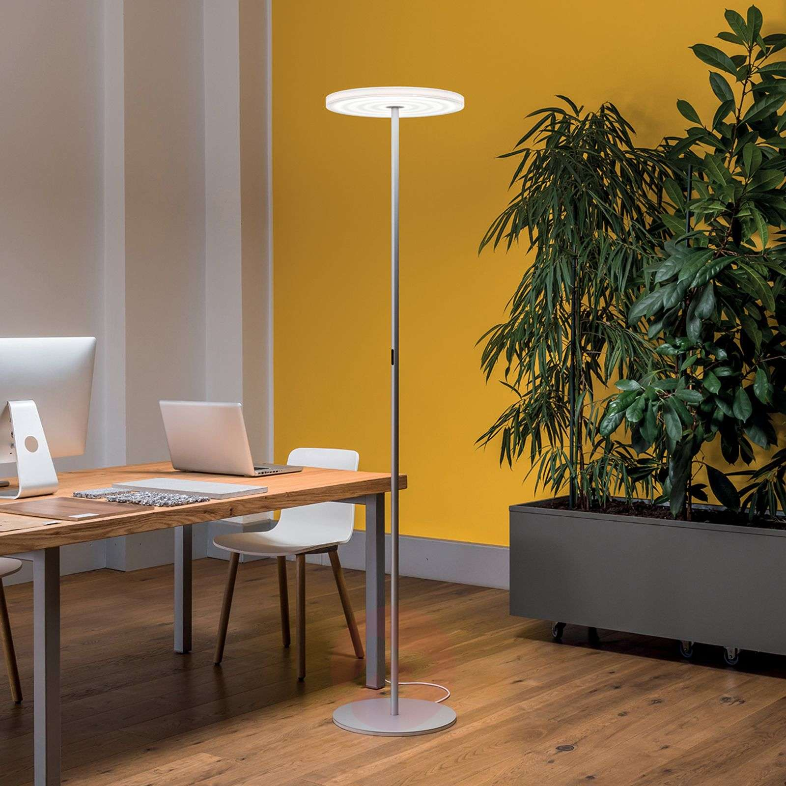 High Quality Bright Led Floor Lamp Round F45