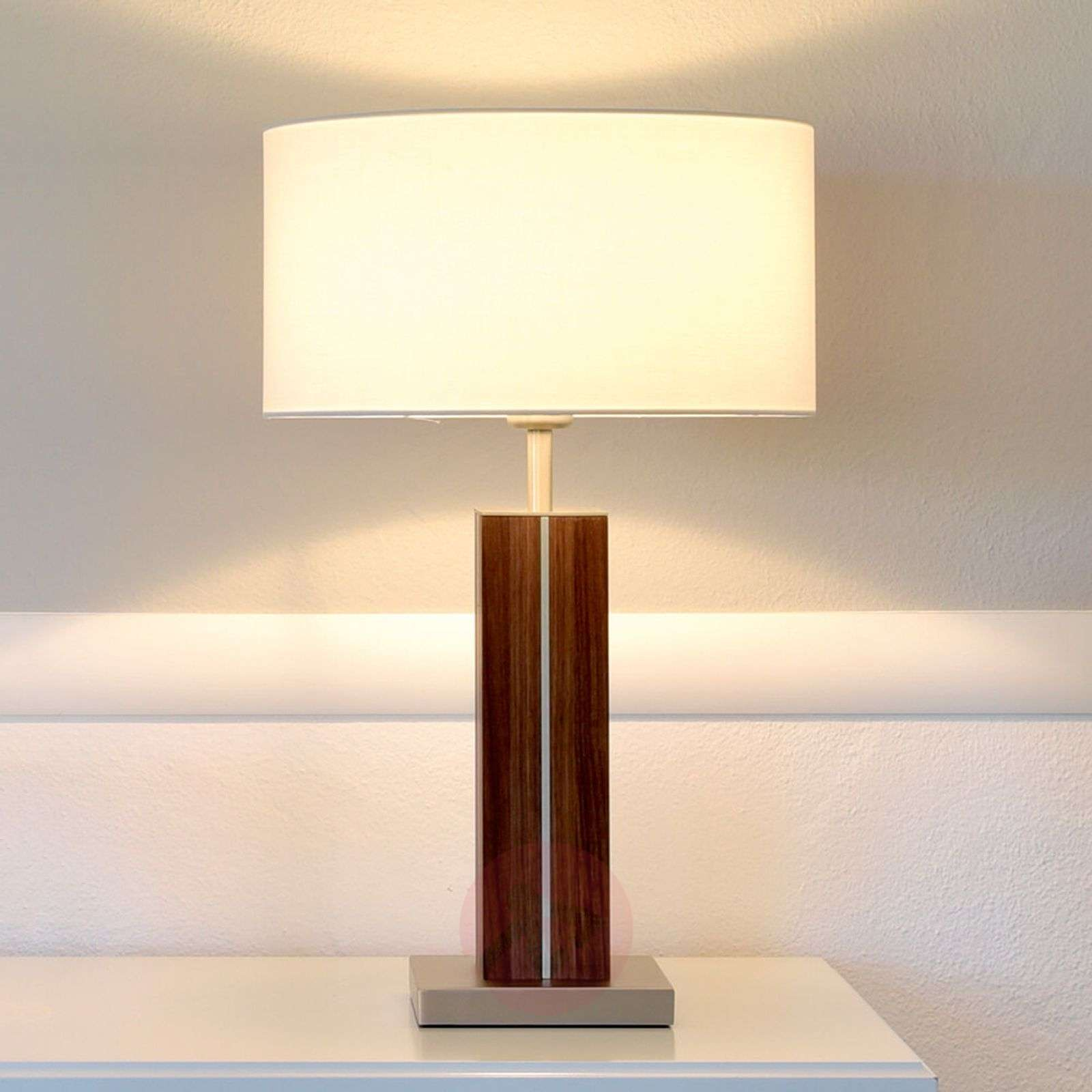 High Quality Dana Buffet Lamp With Solid Wood Base 4543011 01 ...
