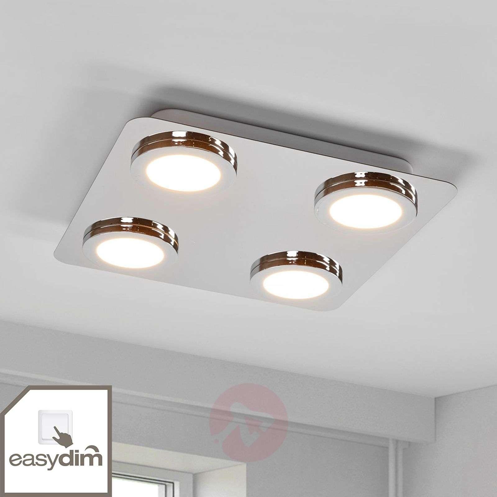 Hilda four bulb easydim ceiling light with led